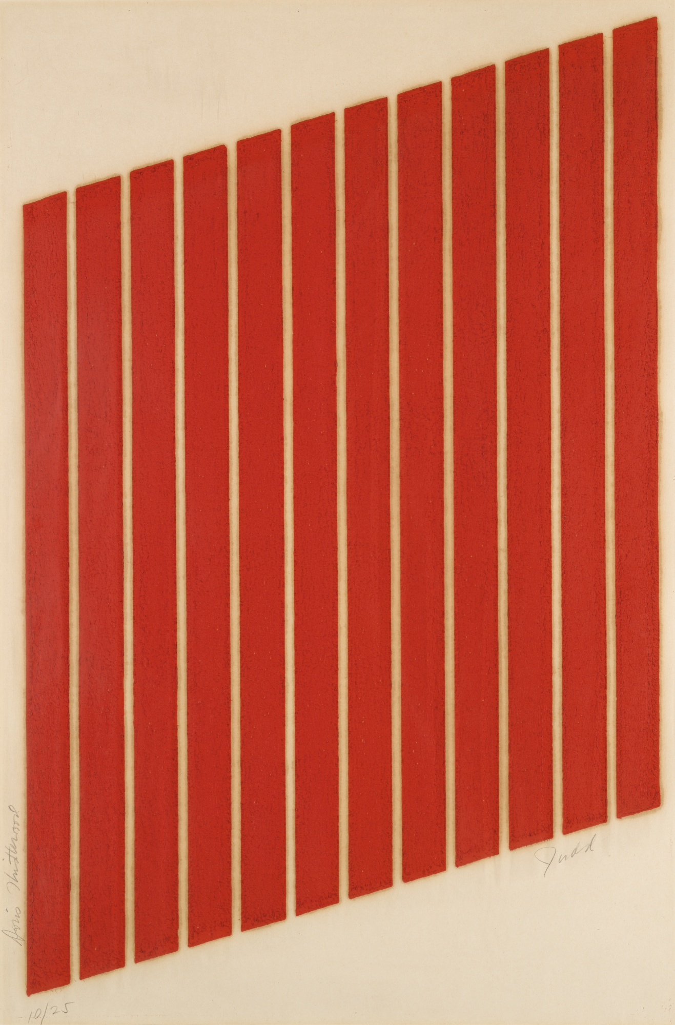 Donald Judd-Untitled (Schellmann 74A)-1963