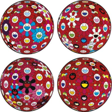 Takashi Murakami-A Collection Of Ten Flowerball Prints-2014