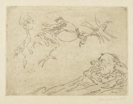 James Ensor-L'Archer Terrible (D. T. E.36)-1888