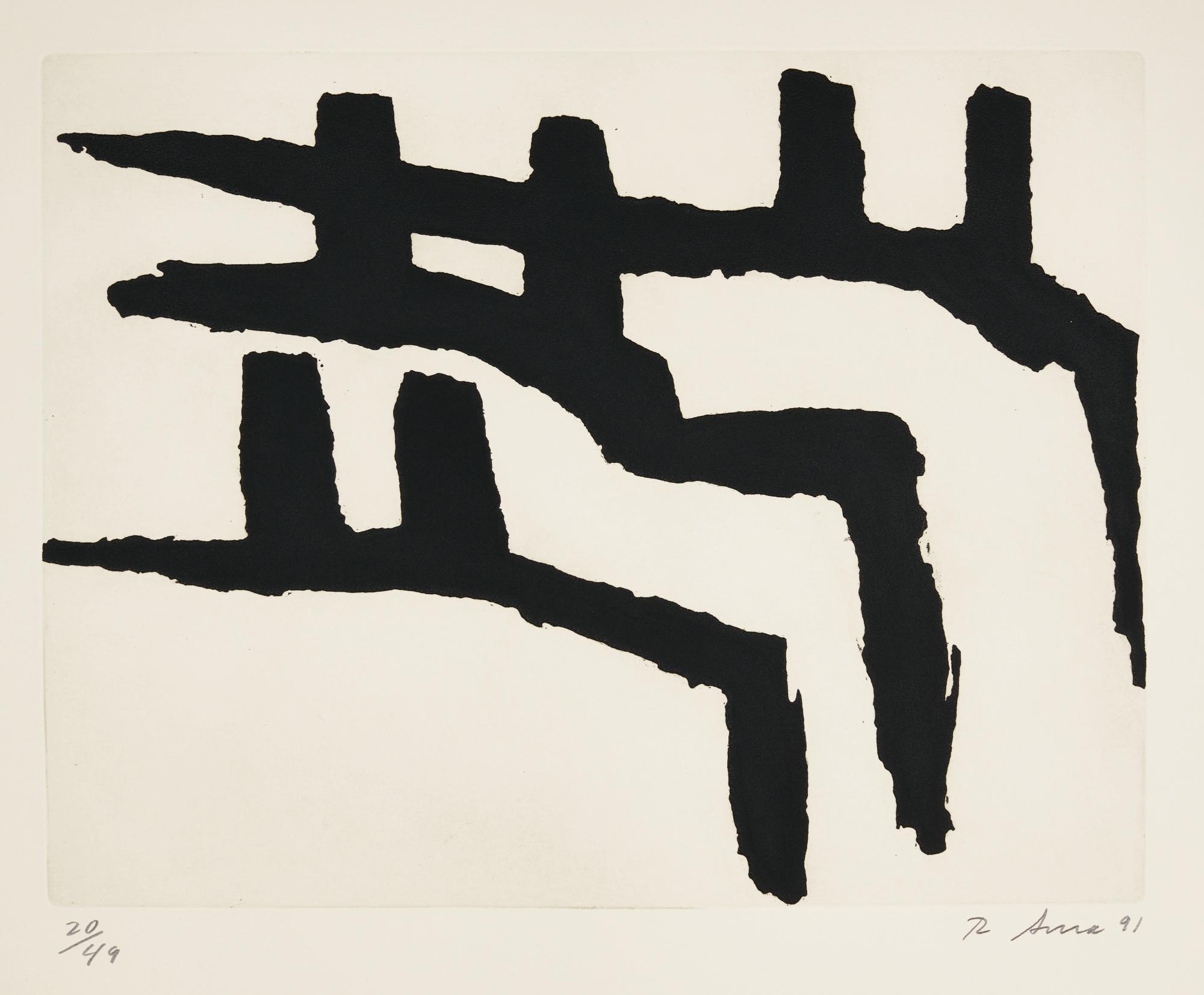 Richard Serra-Eidid II (Berswordt-Wallrabe 89; Gemini 1555)-1991