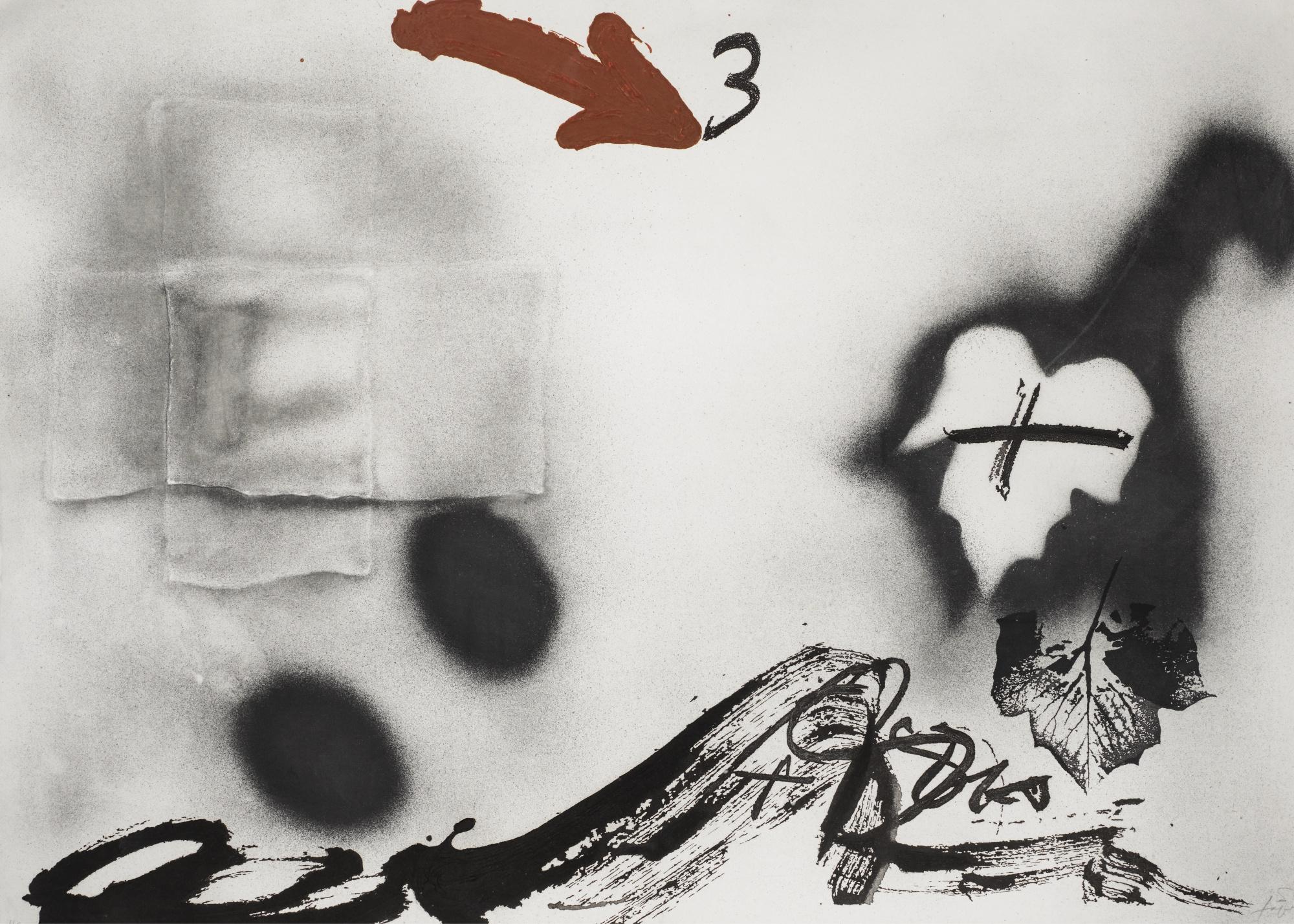 Antoni Tapies-Fulles-1987