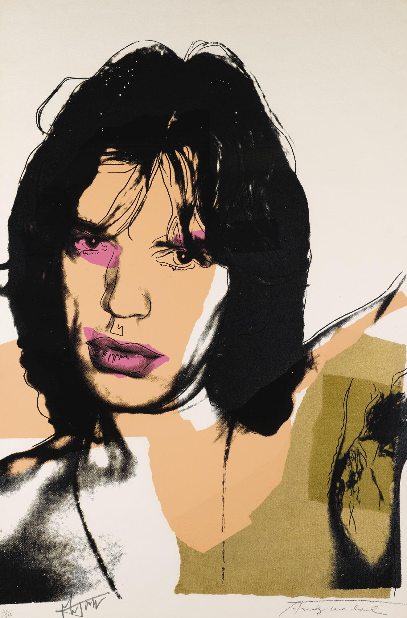 Andy Warhol-Mick Jagger (F. & S. II.141)-1975