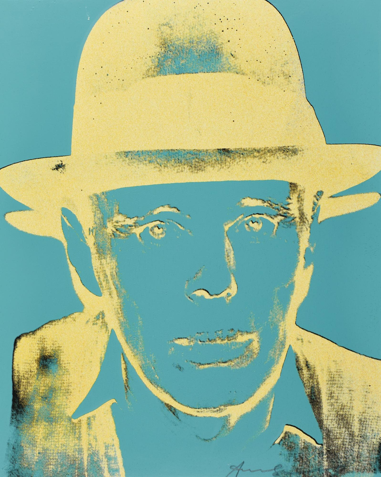 Andy Warhol-Joseph Beuys: State IIi(See F. & S. II.244)-1983