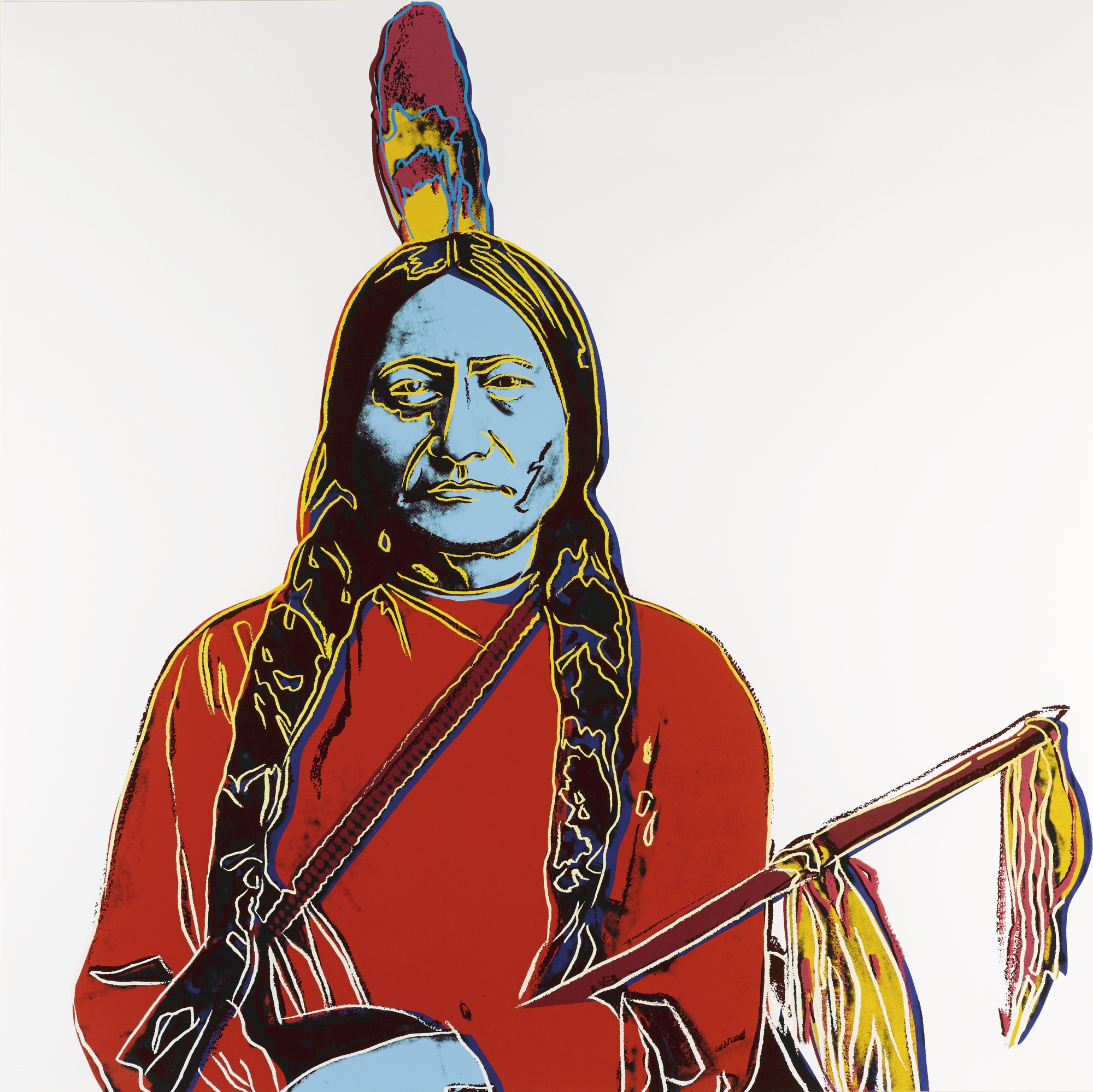 Andy Warhol-Sitting Bull (F. & S. II.376)-1986