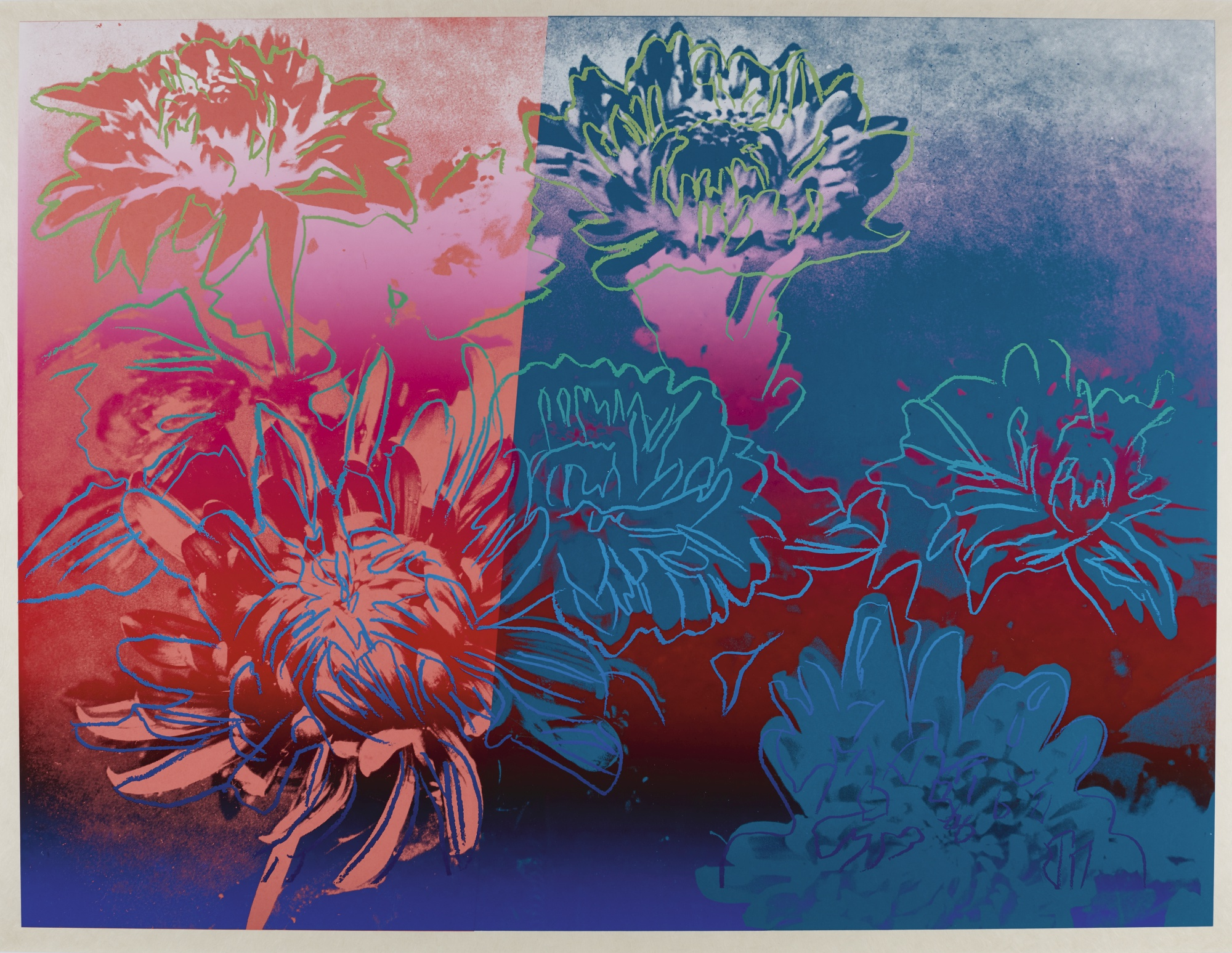 Andy Warhol-Kiku (See F. & S. II.309)-1983