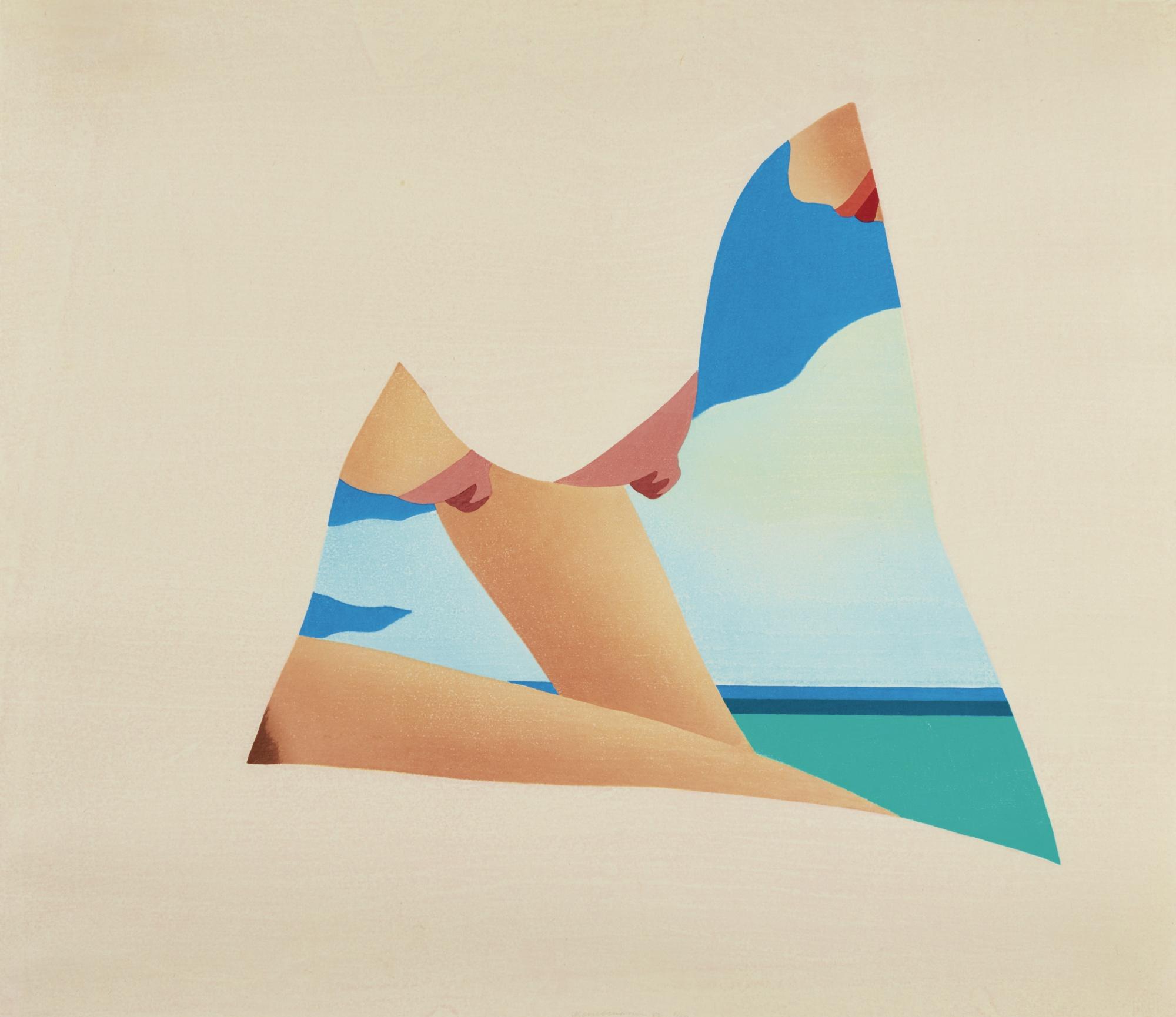 Tom Wesselmann-Seascape Dropout-1982