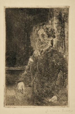 James Ensor-Mon Portrait SquelettisÉ(D. T. E.67)-1889