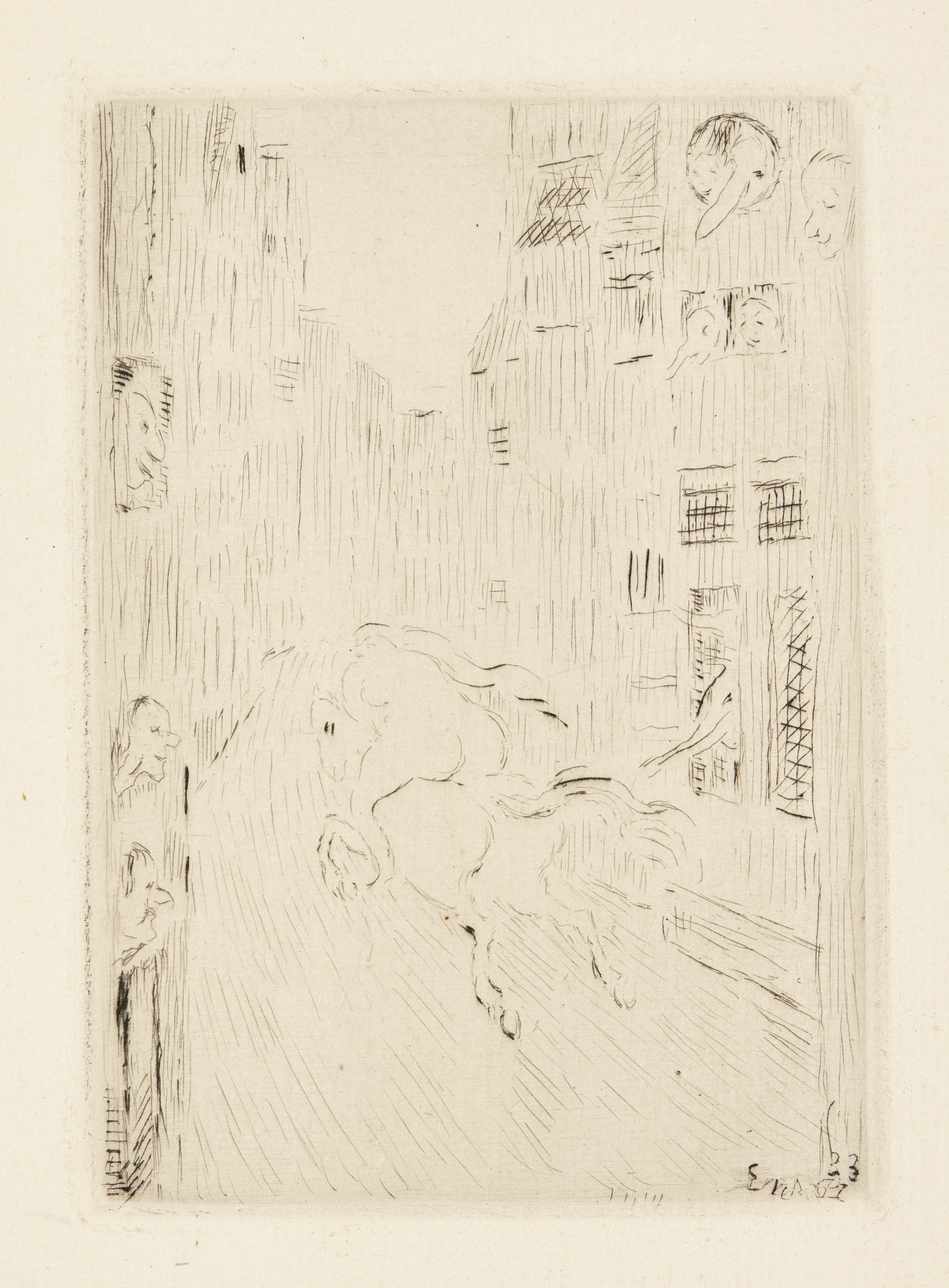 James Ensor-Lady Godiva; L'Ombre Sur La Maison; And Le Diable Au Moulin (T. 130 131 133; E. 137 138 140)-1934