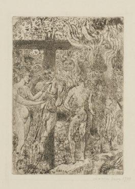 James Ensor-Le Denier De CÉSar; Triomphe Romain (D. T. E.62 78); And LaReine Parysatis(D. T. 116; E. 121)-1888