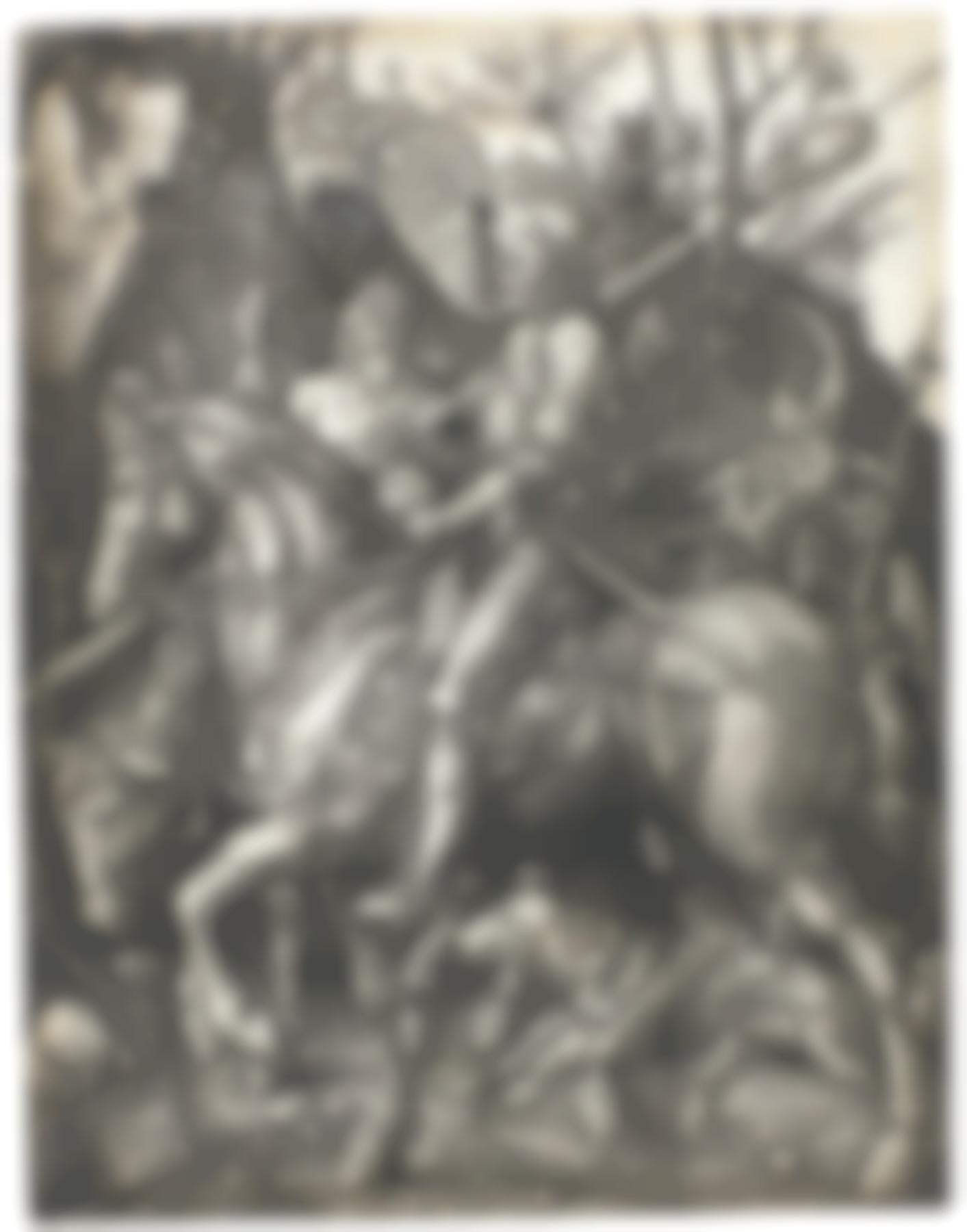 Albrecht Durer-Knight Death And The Devil (B. 98; M. Holl. 74)-1513