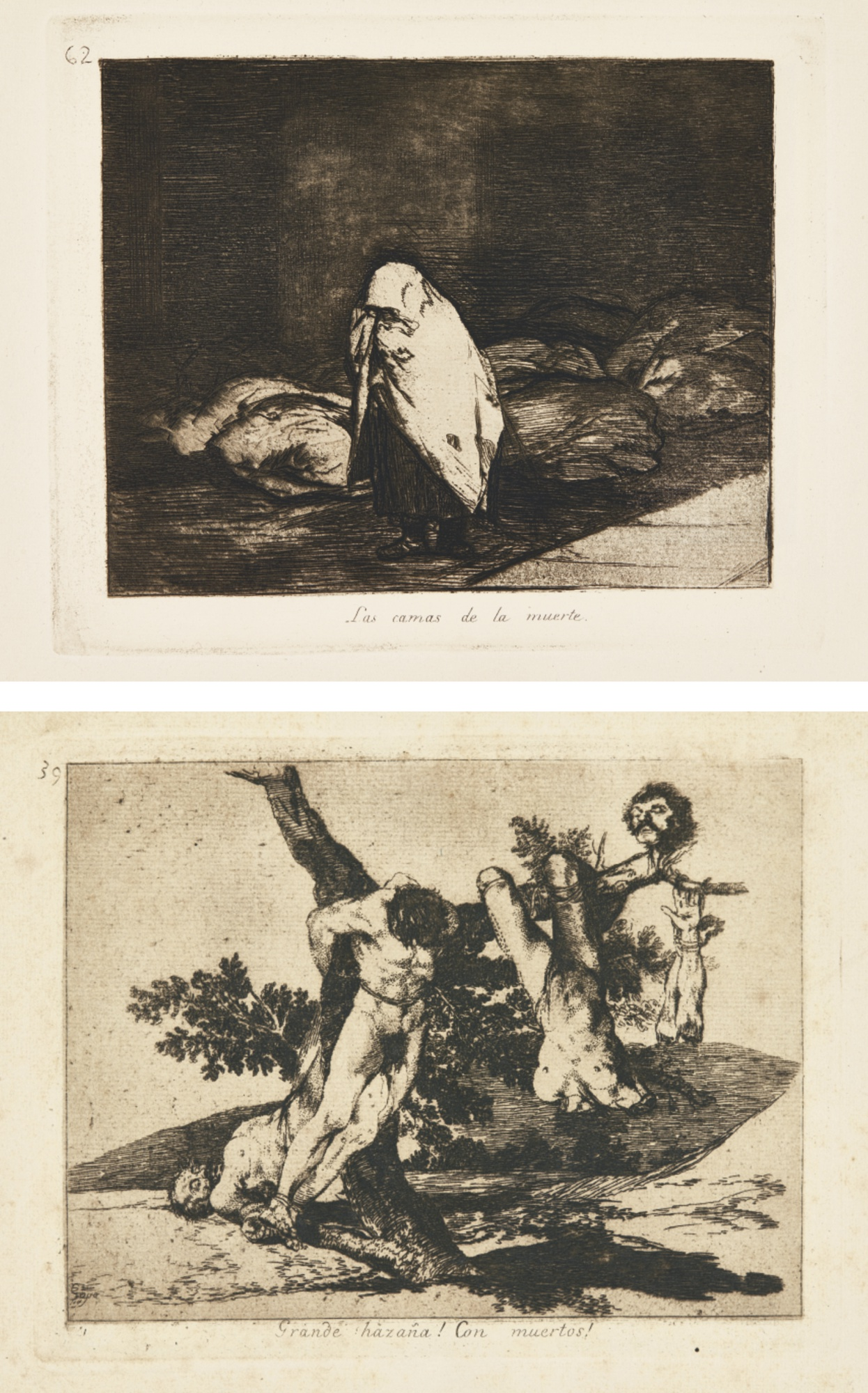 Francisco de Goya-Los Desastres De La Guerra (H. 121-200)-1820