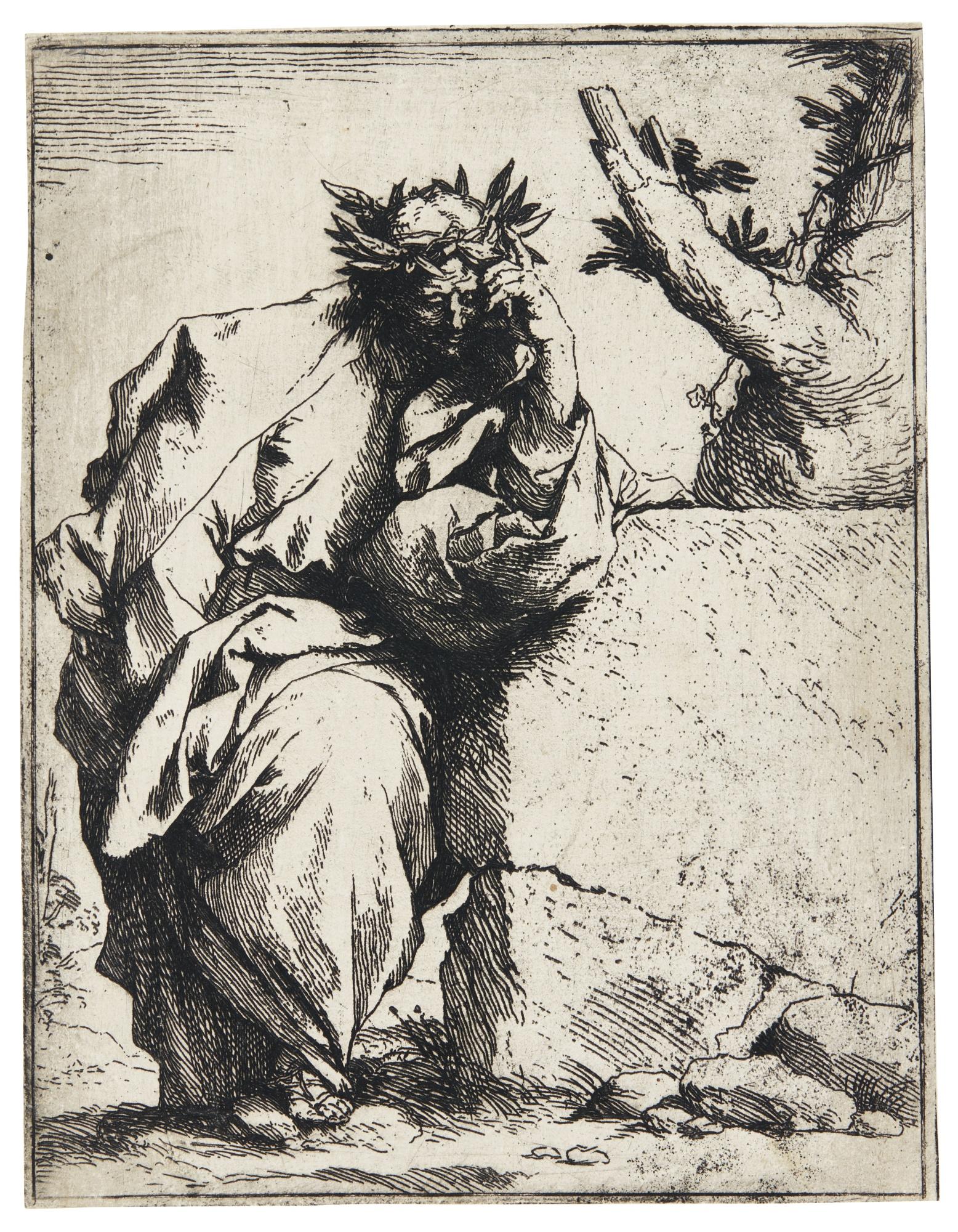 Jusepe de Ribera-The Poet (Bartsch 10; Brown 3)-1621
