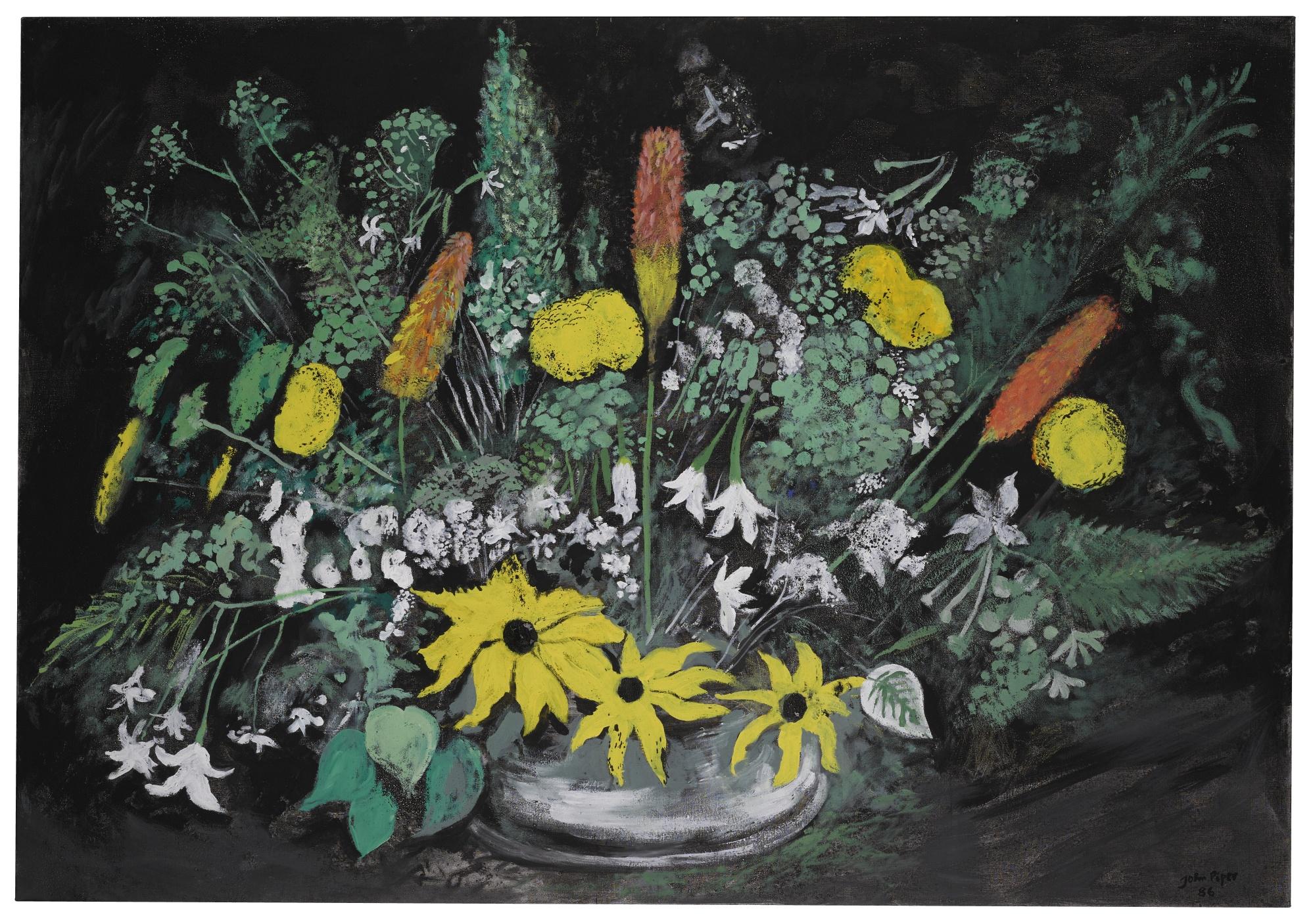 John Piper-Summer Flowers V-1986