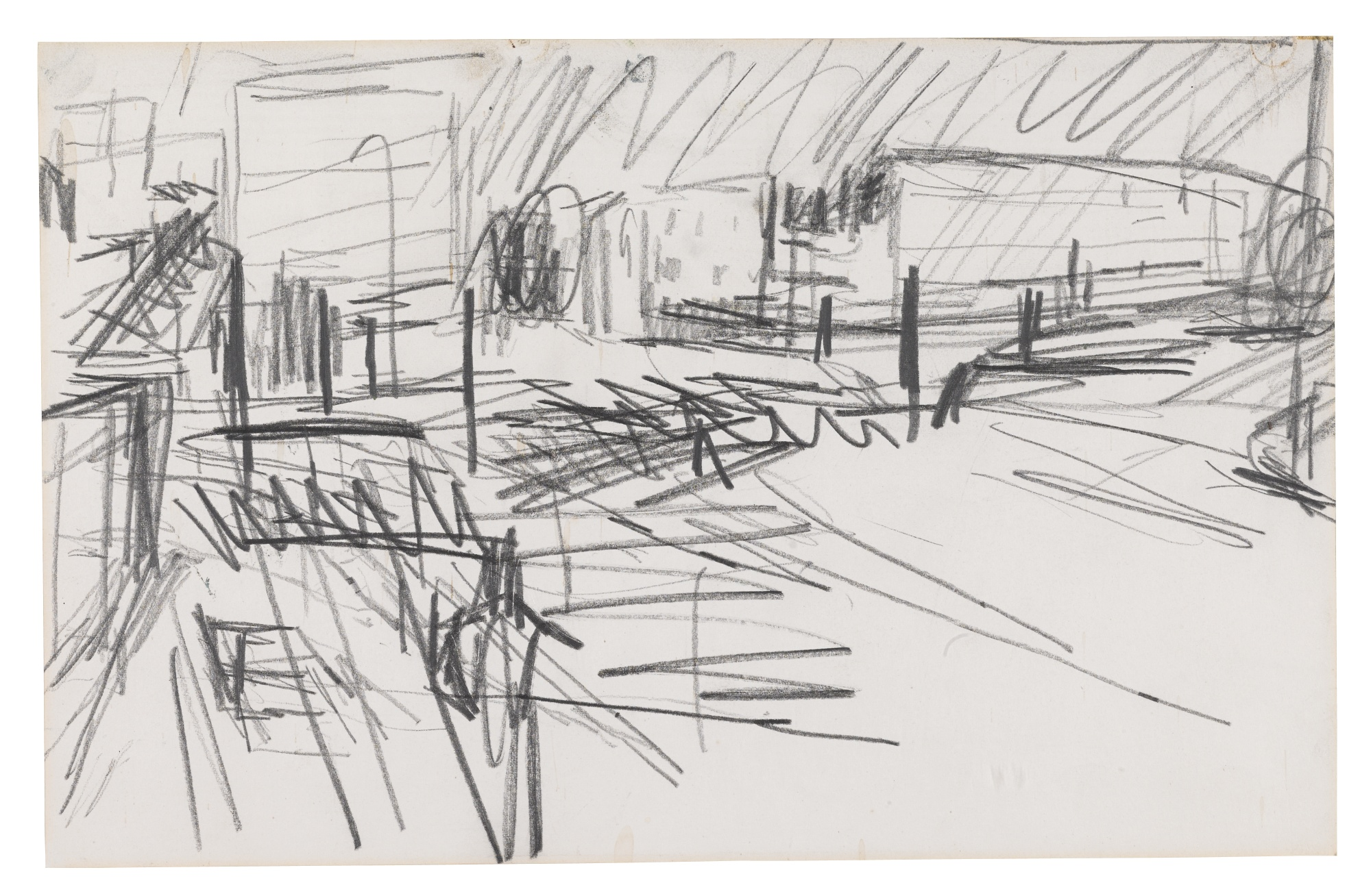 Frank Auerbach-Mornington Crescent-1960