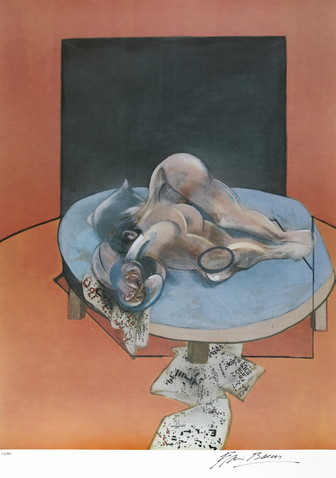Francis Bacon-Studies Of The Human Body (Sabatier 24)-1980