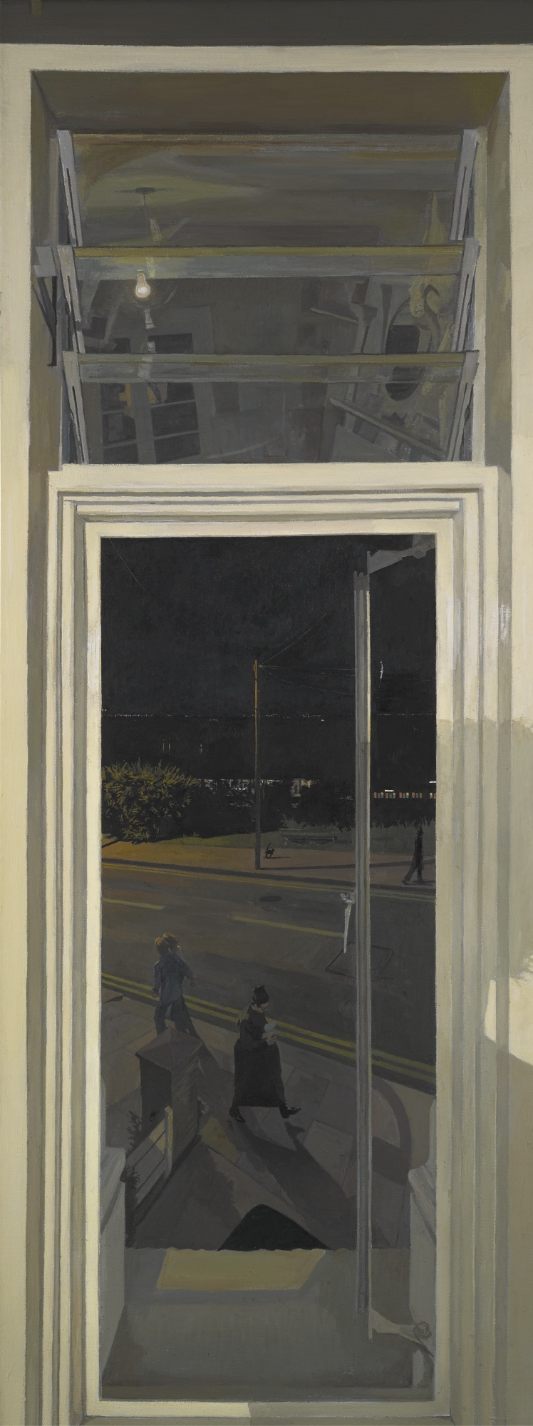 John Wonnacott-Estuary Window: Summer Night - The Priest-1979
