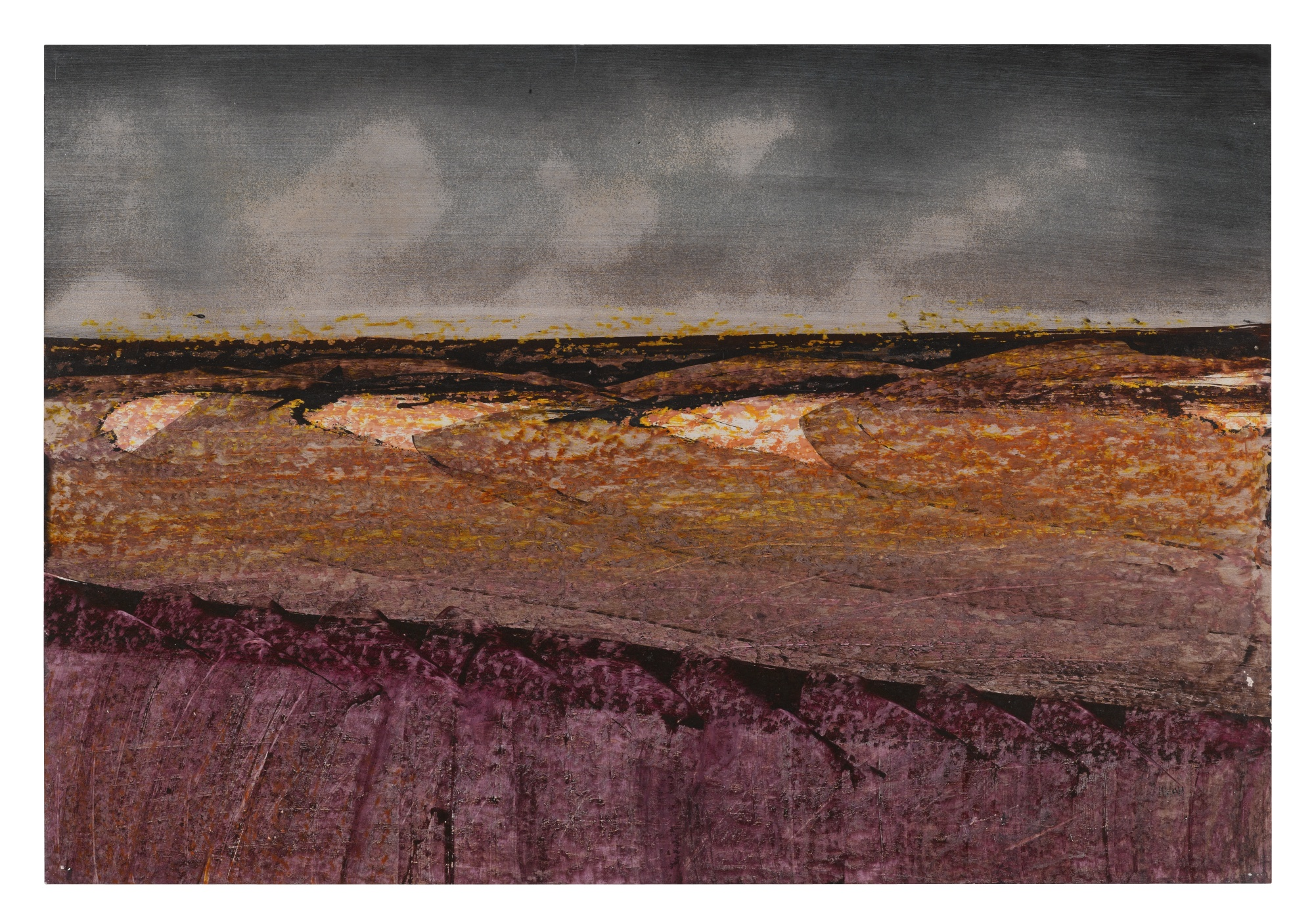 Sidney Nolan-Landscape-1970