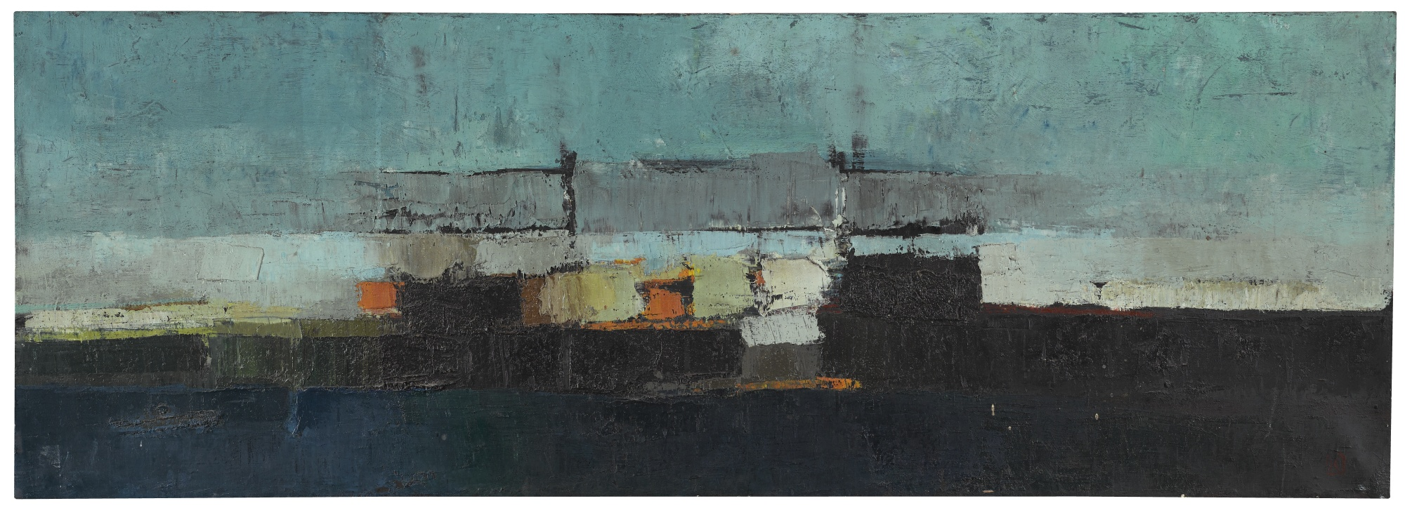 Peter Kinley-Seascape-1953