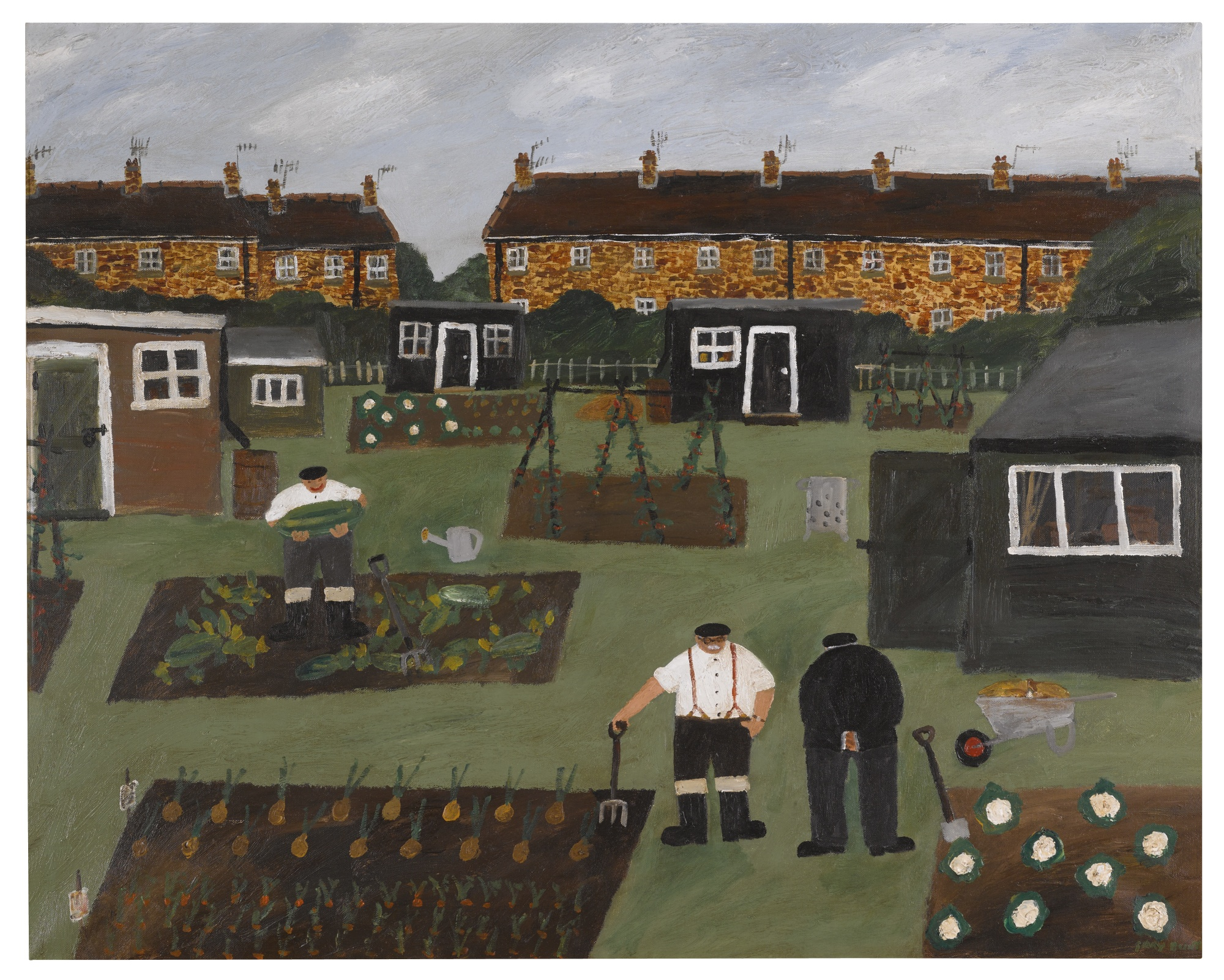 Gary Bunt-The Allotment-2005