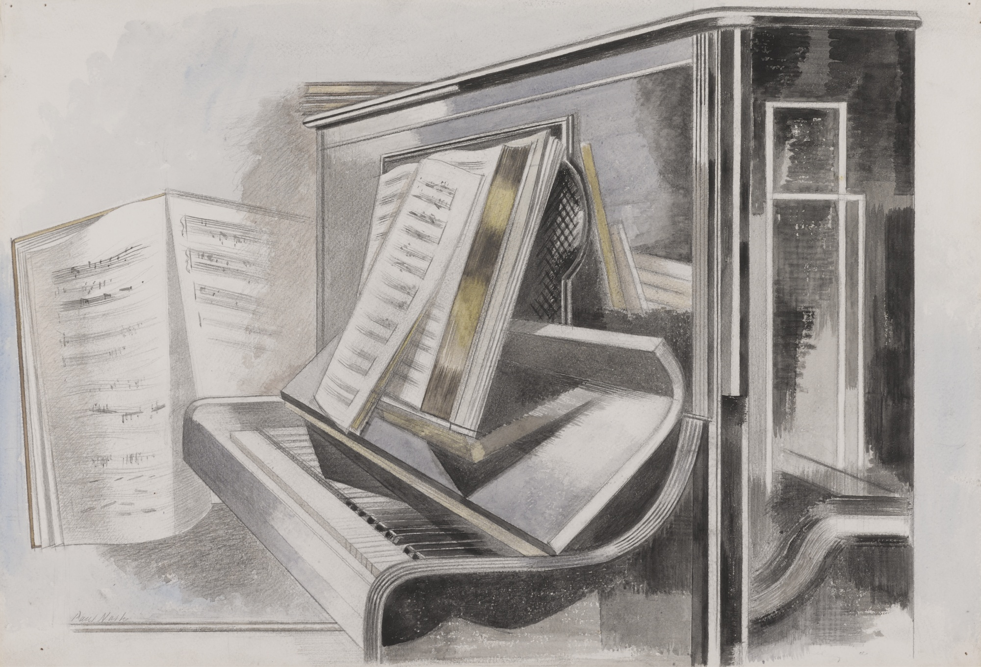 Paul Nash-Piano-1932