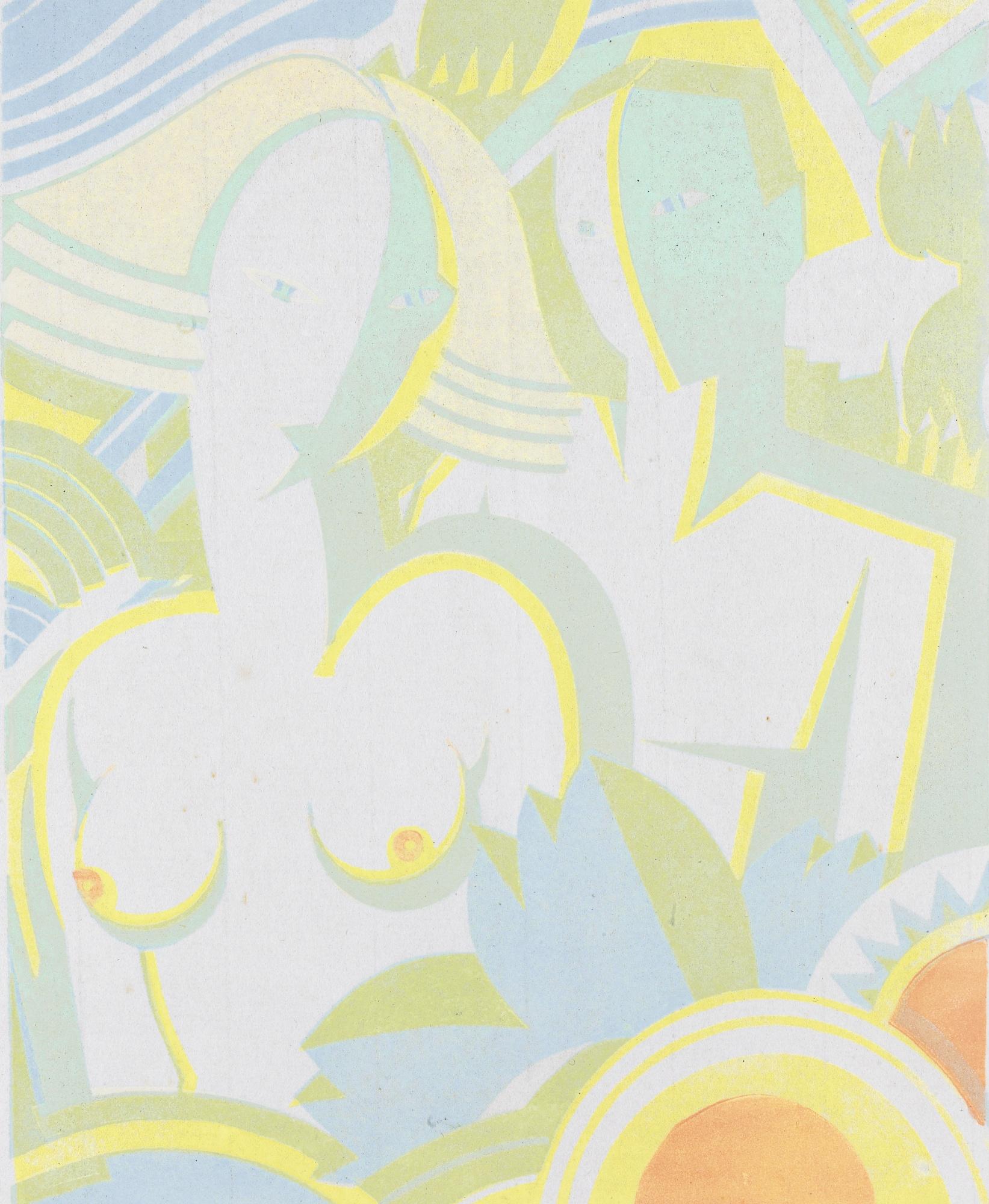 Leonard Beaumont-The Garden Of Eden (See Dickson 68)-1933