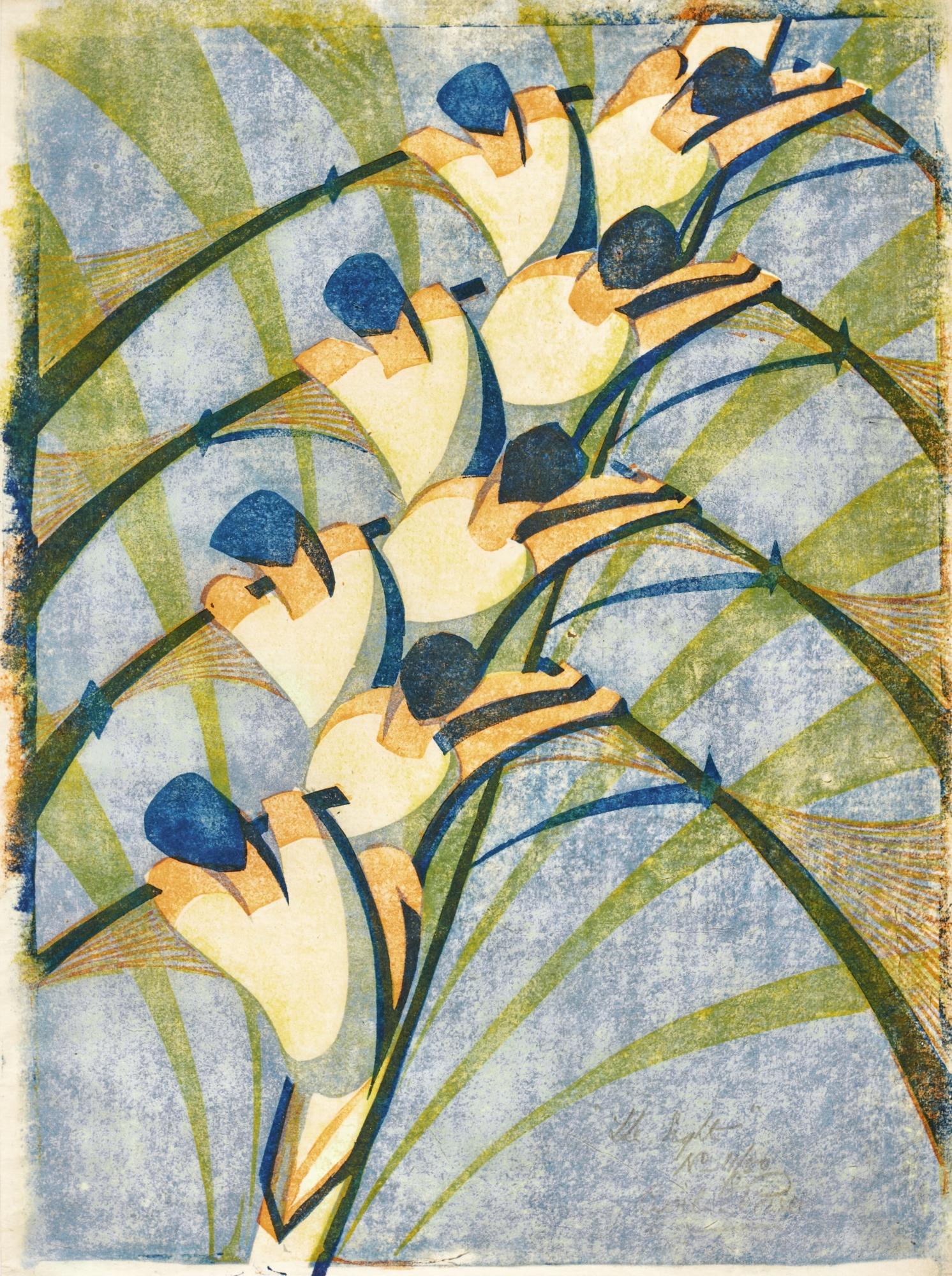 Cyril Edward Power-The Eight (C. Cep 18)-1930