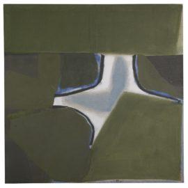 Sandra Blow-Green Painting-1980