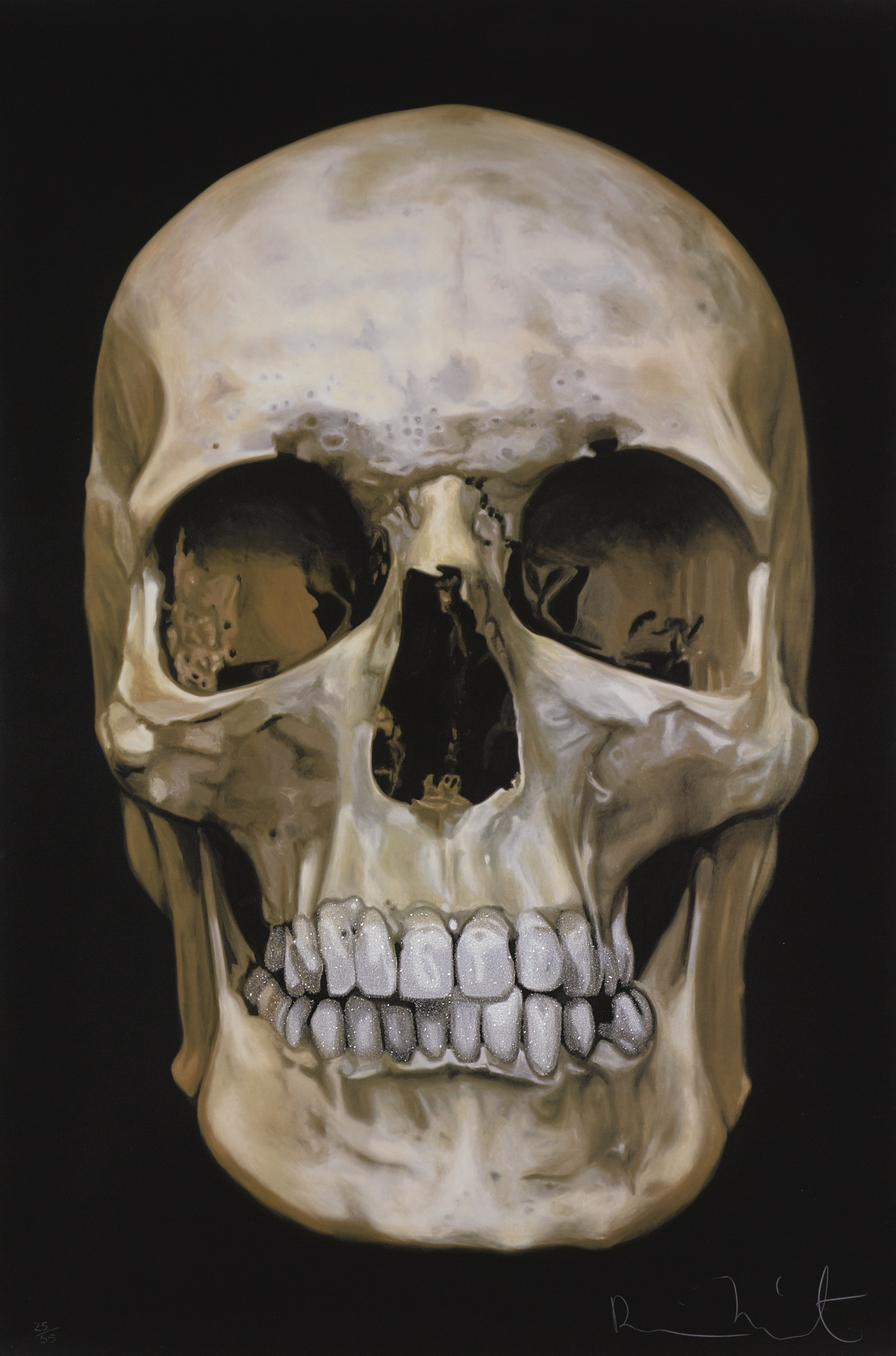 Damien Hirst-The Skull Beneath The Skin-2005