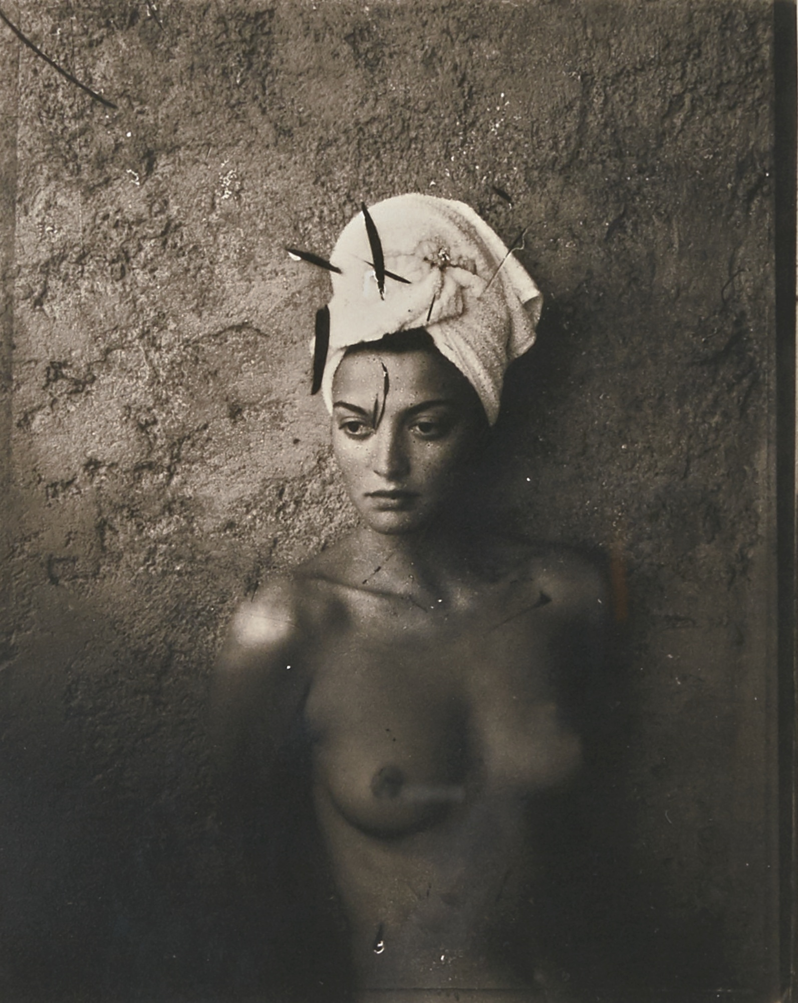 David Bailey-Catherine In Turban 1990-