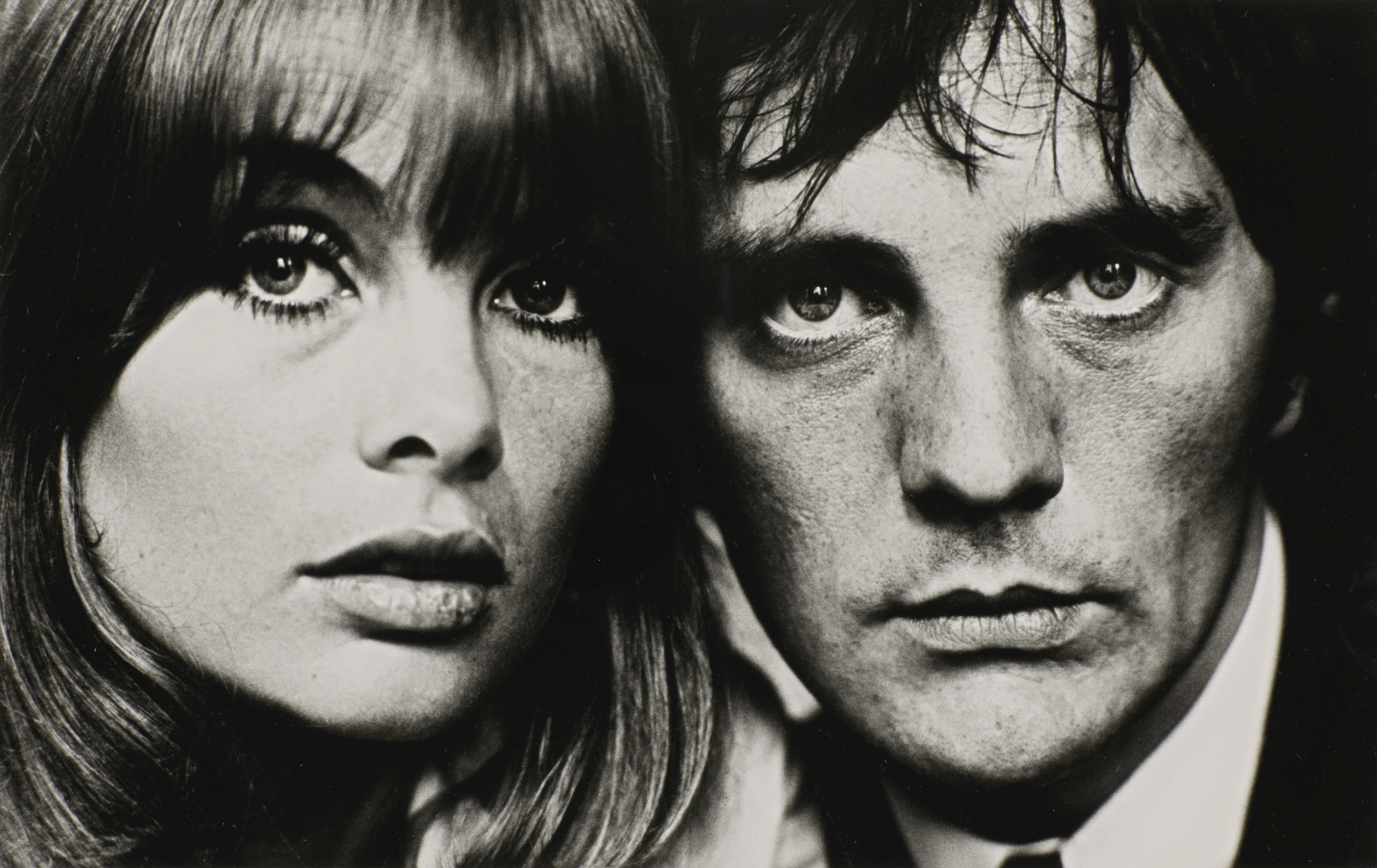 Terry O'Neill-Jean Shrimpton And Terence Stamp 1964-