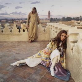 Patrick Lichfield-Paul & Talitha Getty Marrakech January 1967