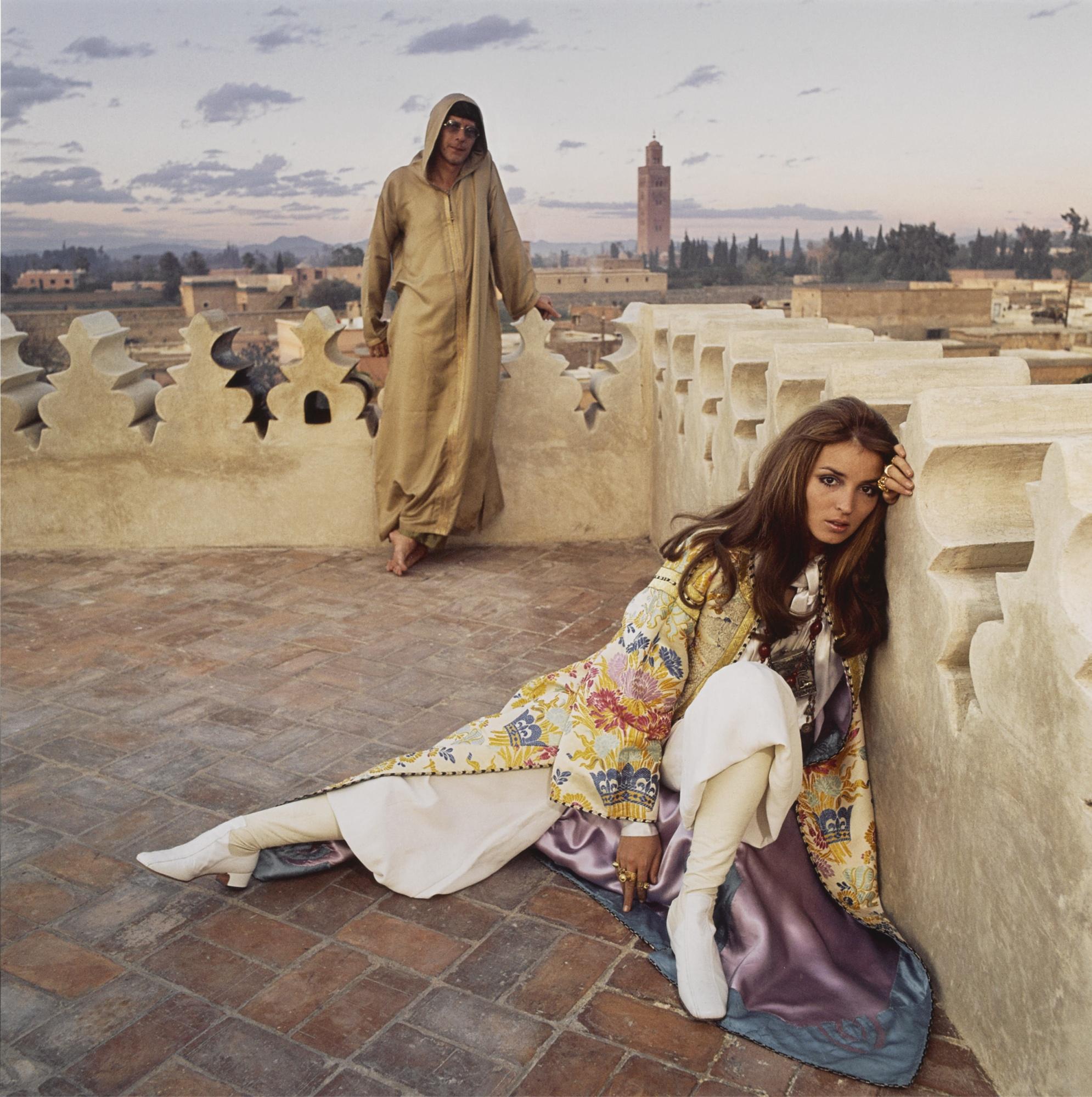 Patrick Lichfield-Paul & Talitha Getty Marrakech January 1967-