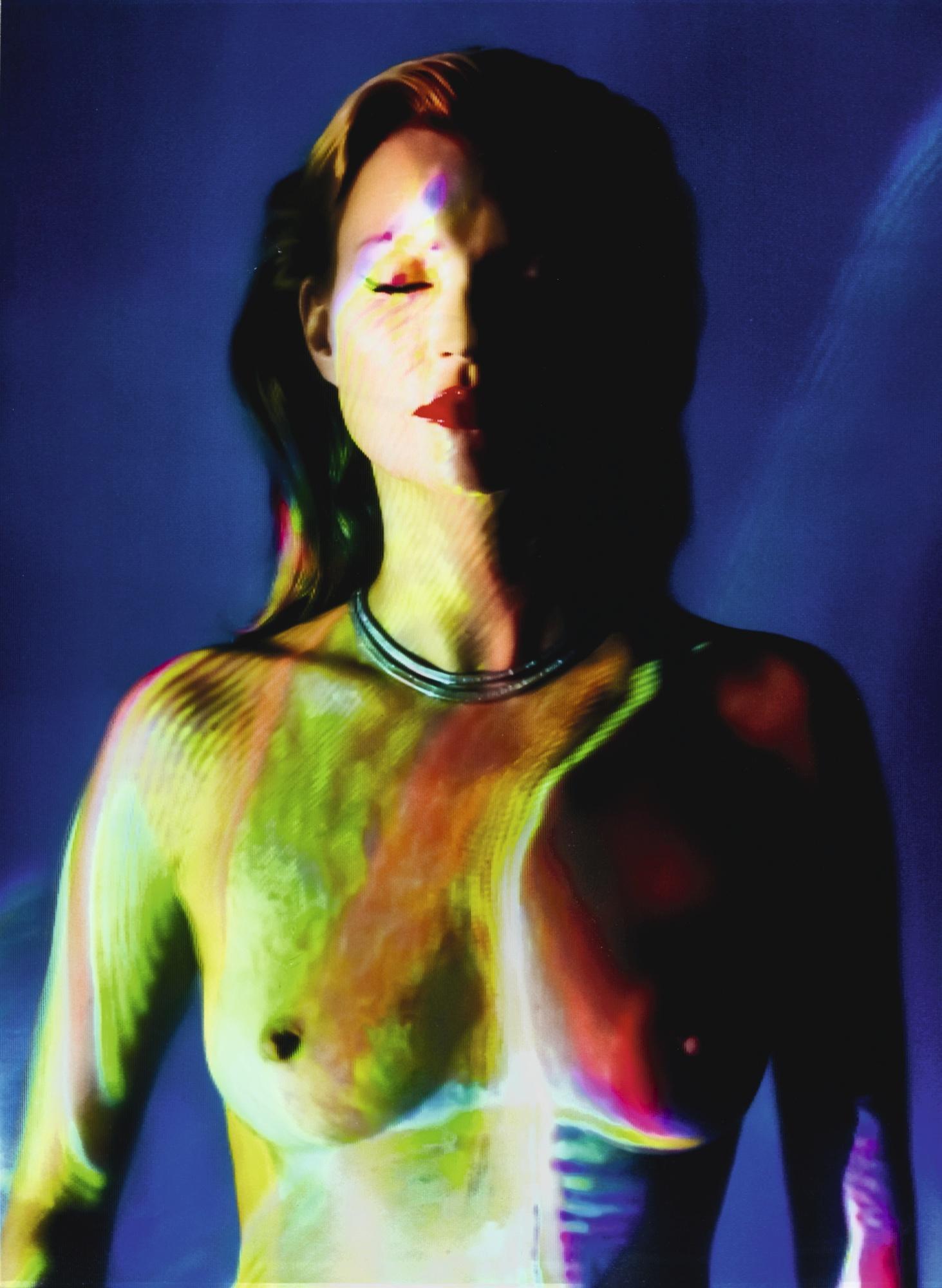 Chris Levine-She's Light (Laser 2) 2013-