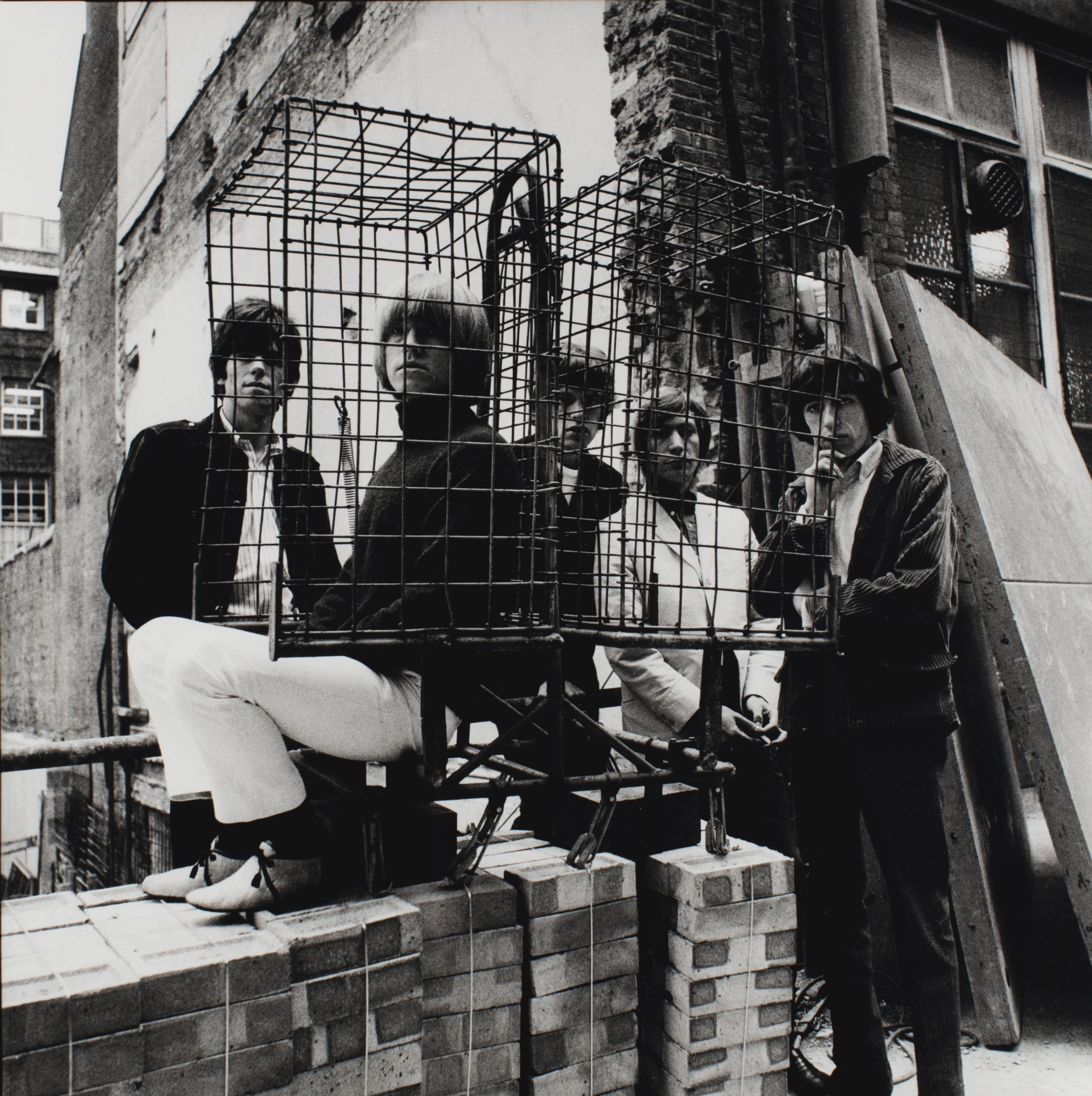 Gered Mankowitz-The Rolling Stones 'Caged II' Ormond Yard London 1965-