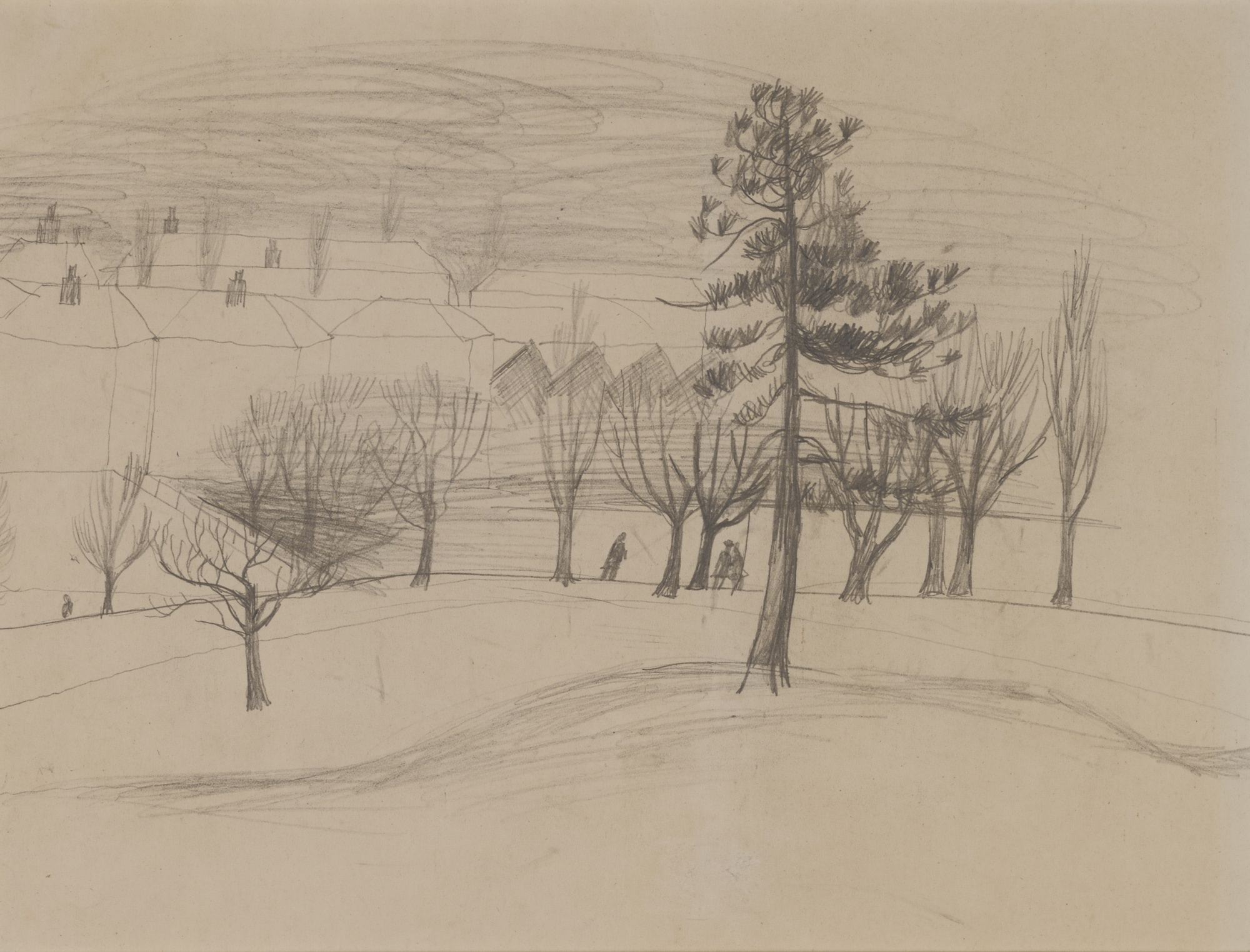 Christopher Wood-Winter Landscape-1928