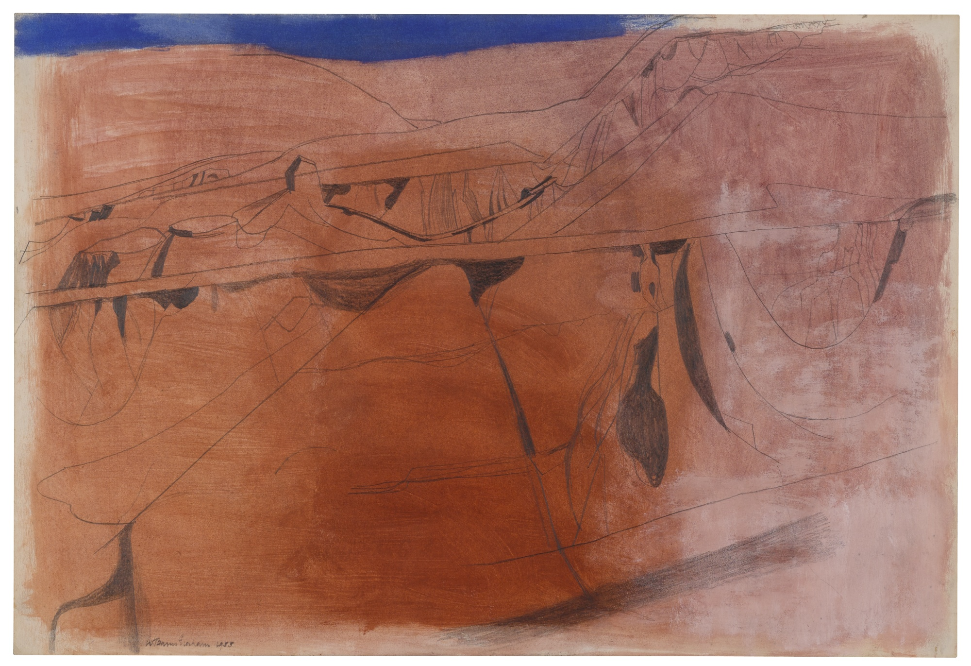 Wilhelmina Barns-Graham-Canyon-1955