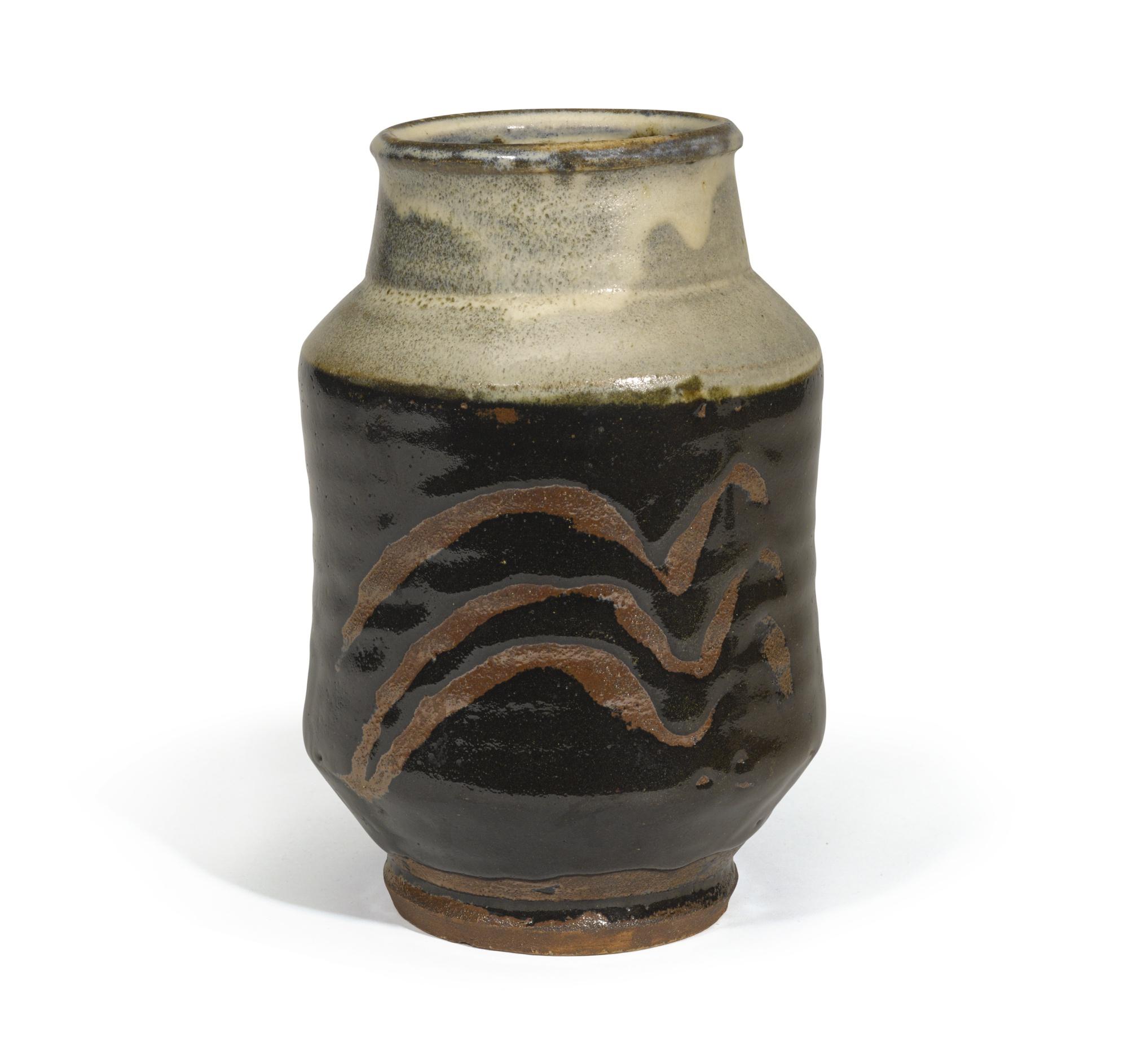 Shoji Hamada-Vase-1950
