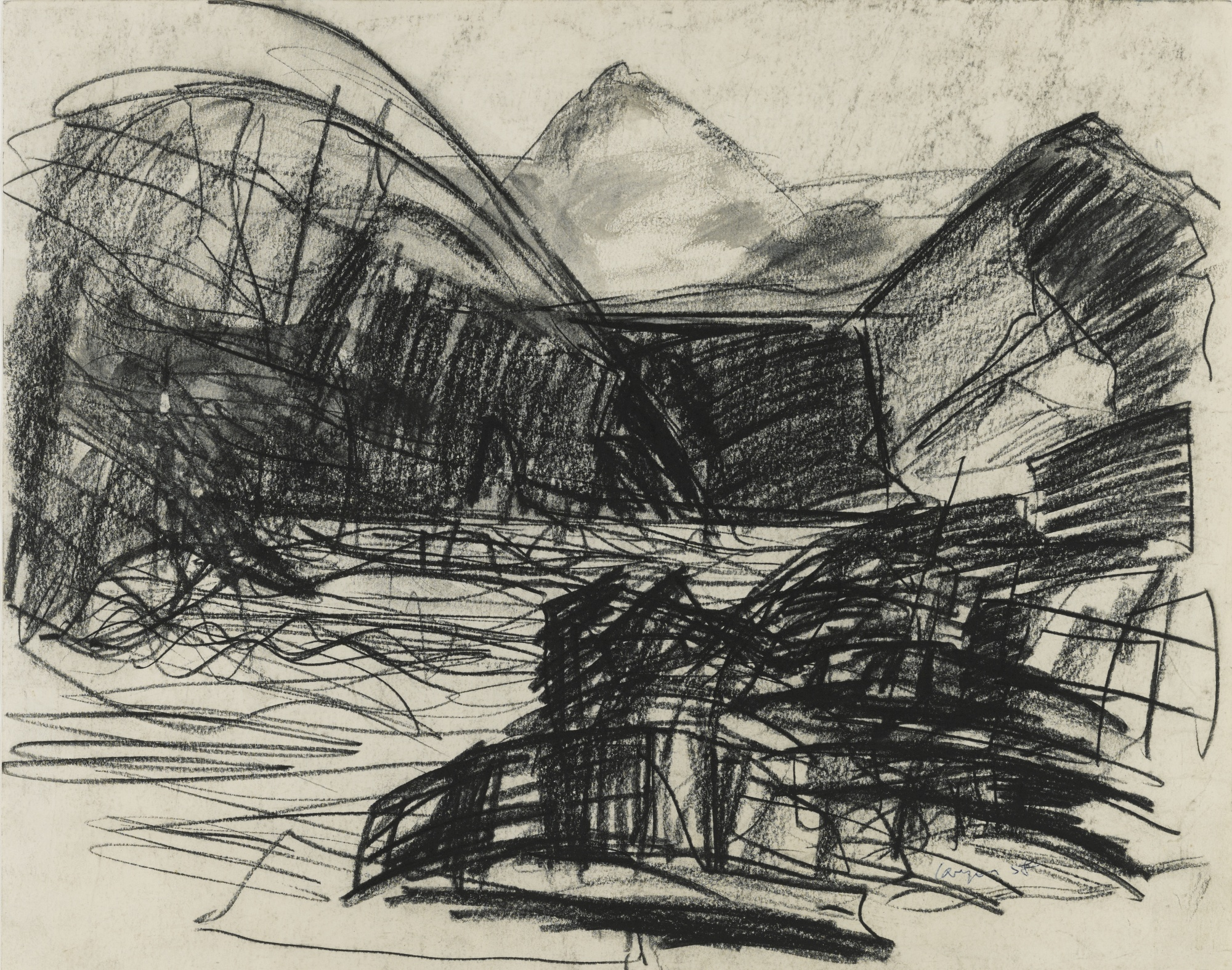 Peter Lanyon-Dorset Coast-1958