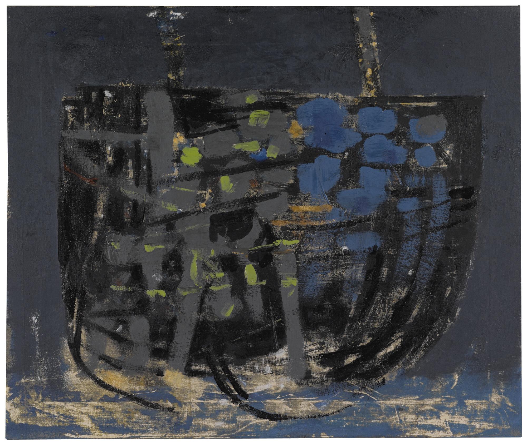 Roger Hilton-Bateau Ivre-1957