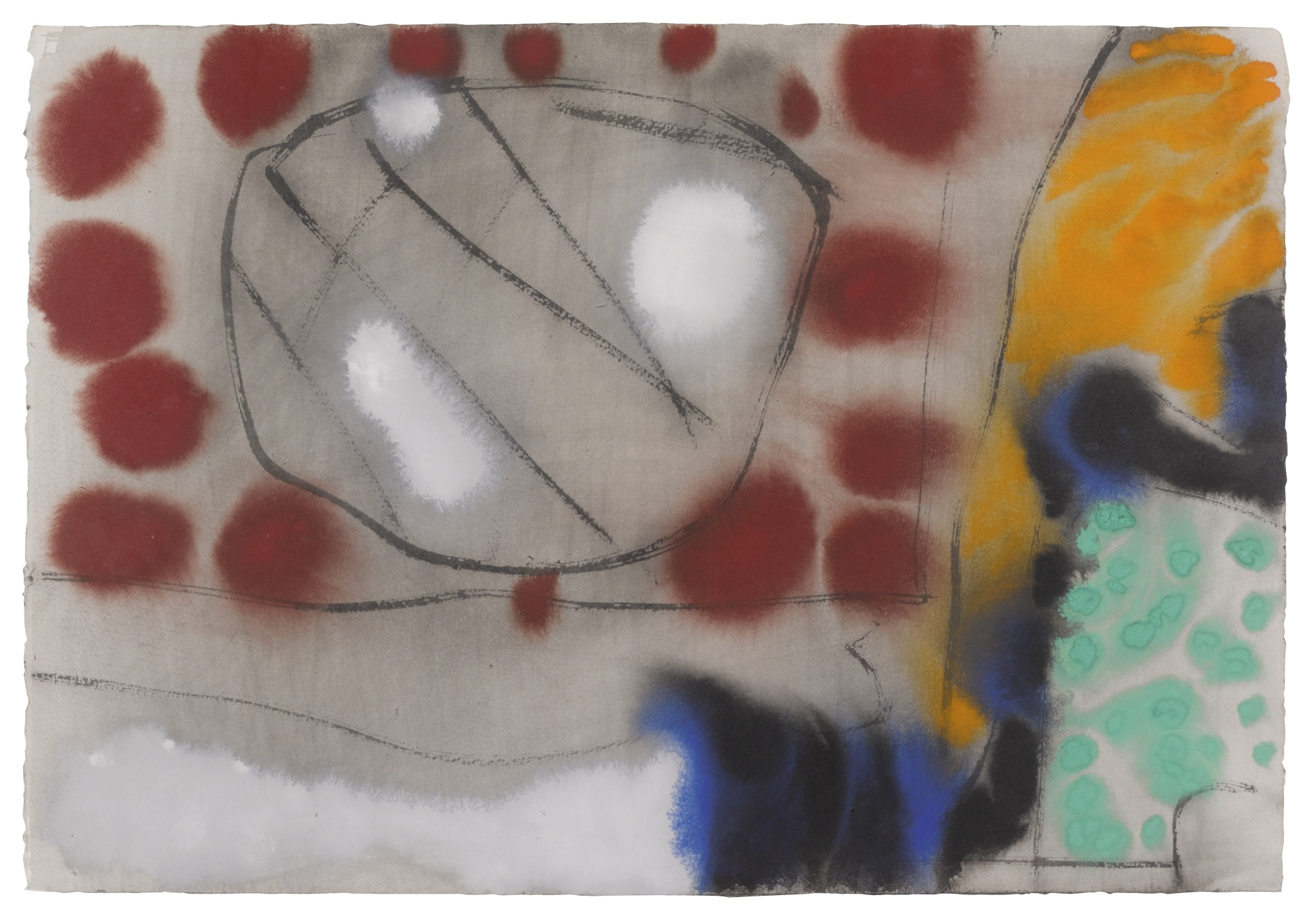 Patrick Heron-July 15: 1986: II-