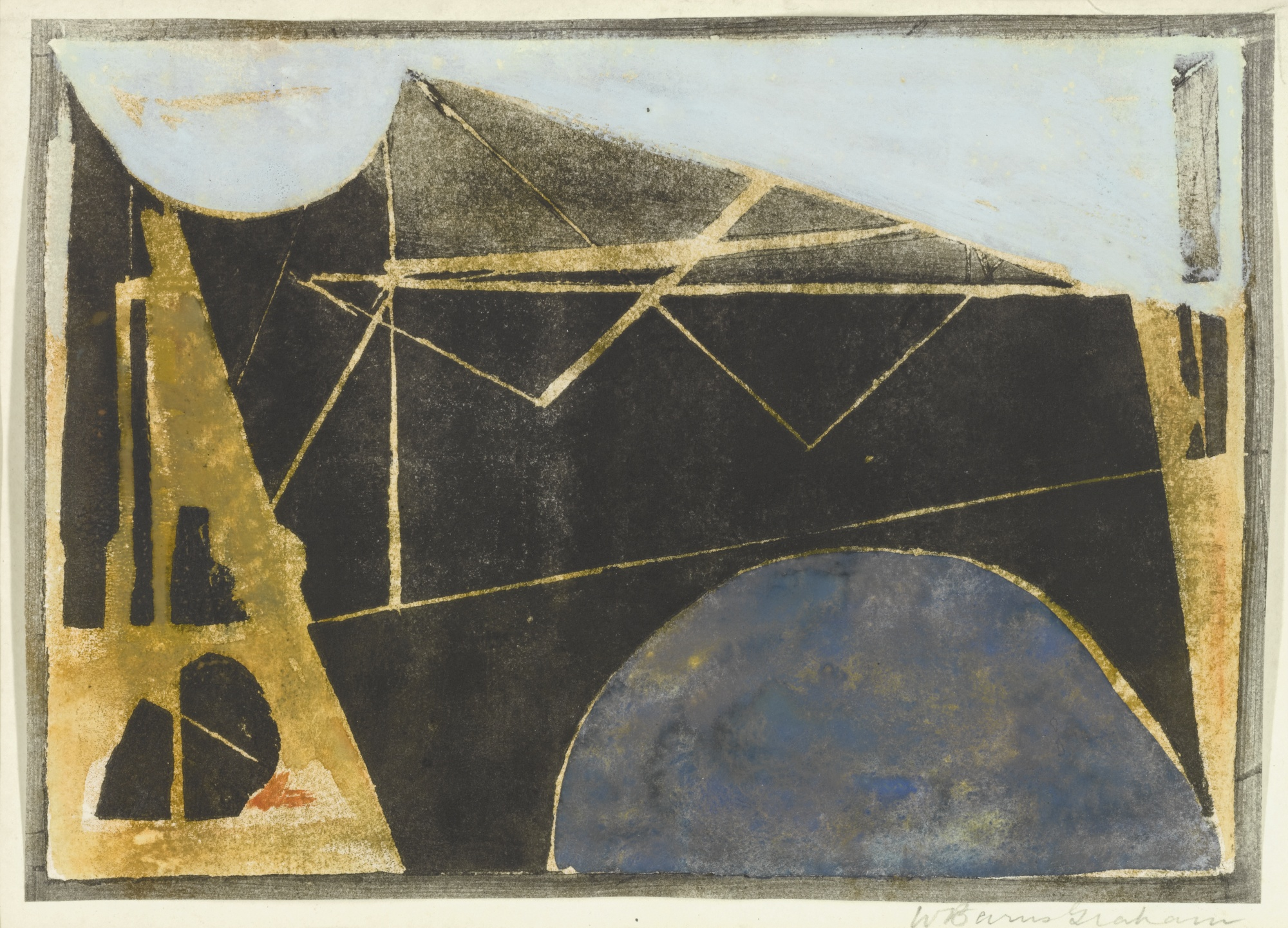 Wilhelmina Barns-Graham-Rock Form-1953