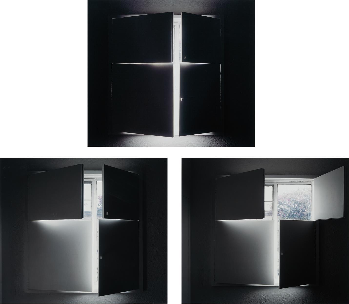Luisa Lambri-Three Works: (i) Untitled (Barragan House #30); (ii) Untitled (Barragan House #32); (iii) Untitled (Barragan House #34)-2005