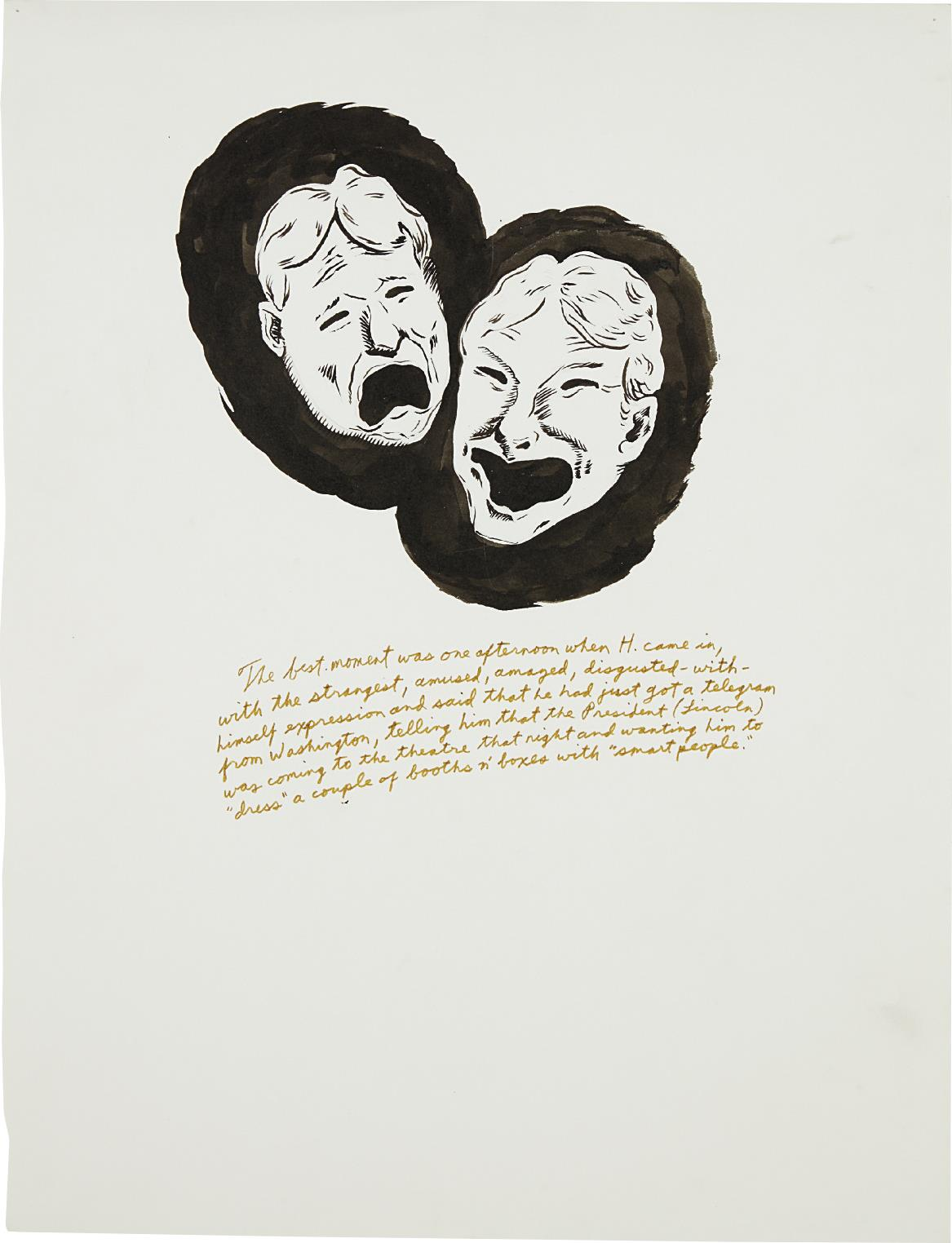 Raymond Pettibon-Untitled (The Best Moment...)-1995