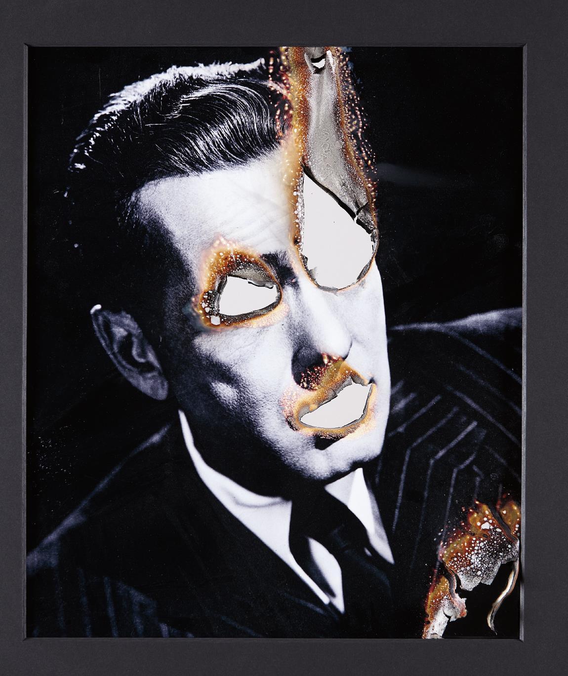 Douglas Gordon-Self Portrait Of You + Me, (Humphrey Bogart)-2006