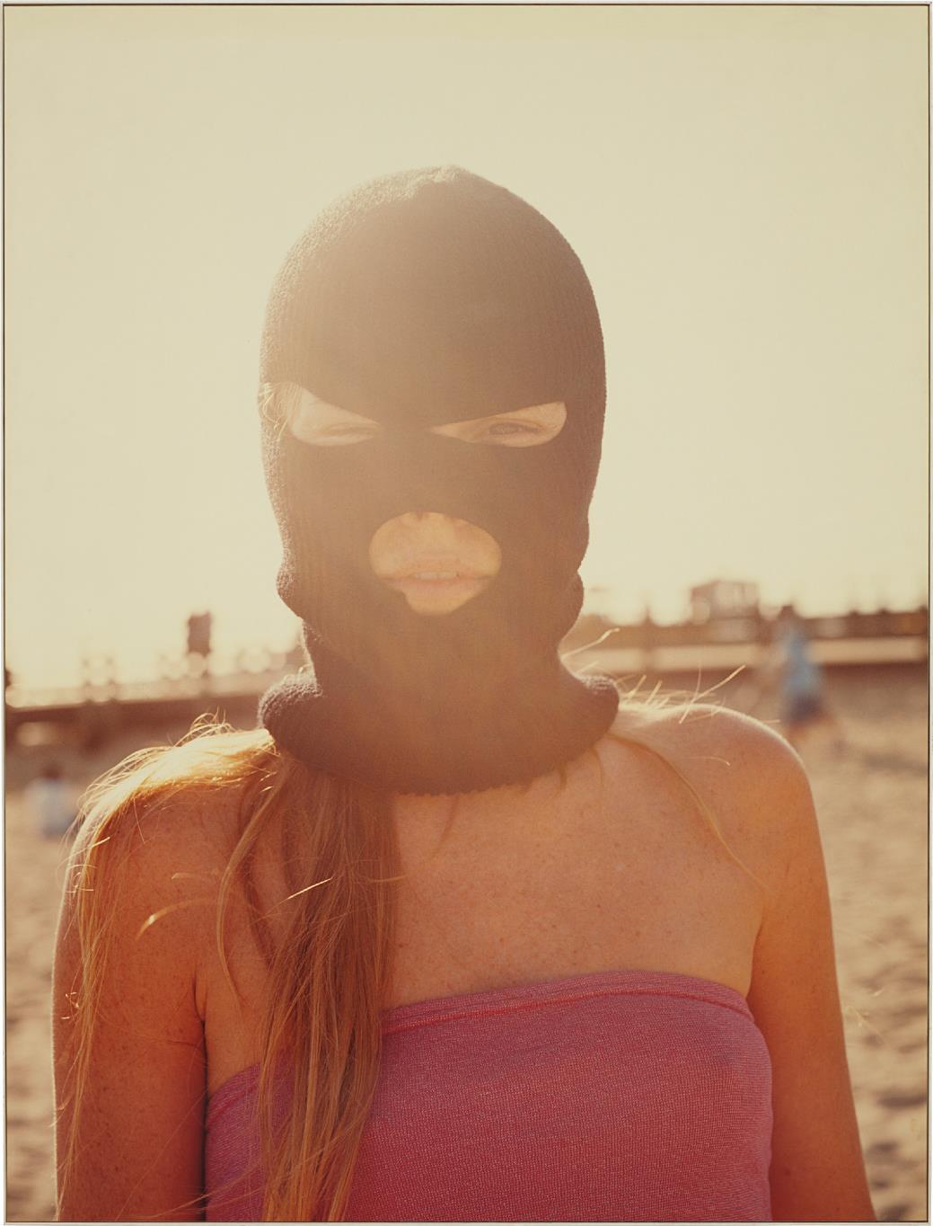 Doug Aitken-Girl In Mask-2002