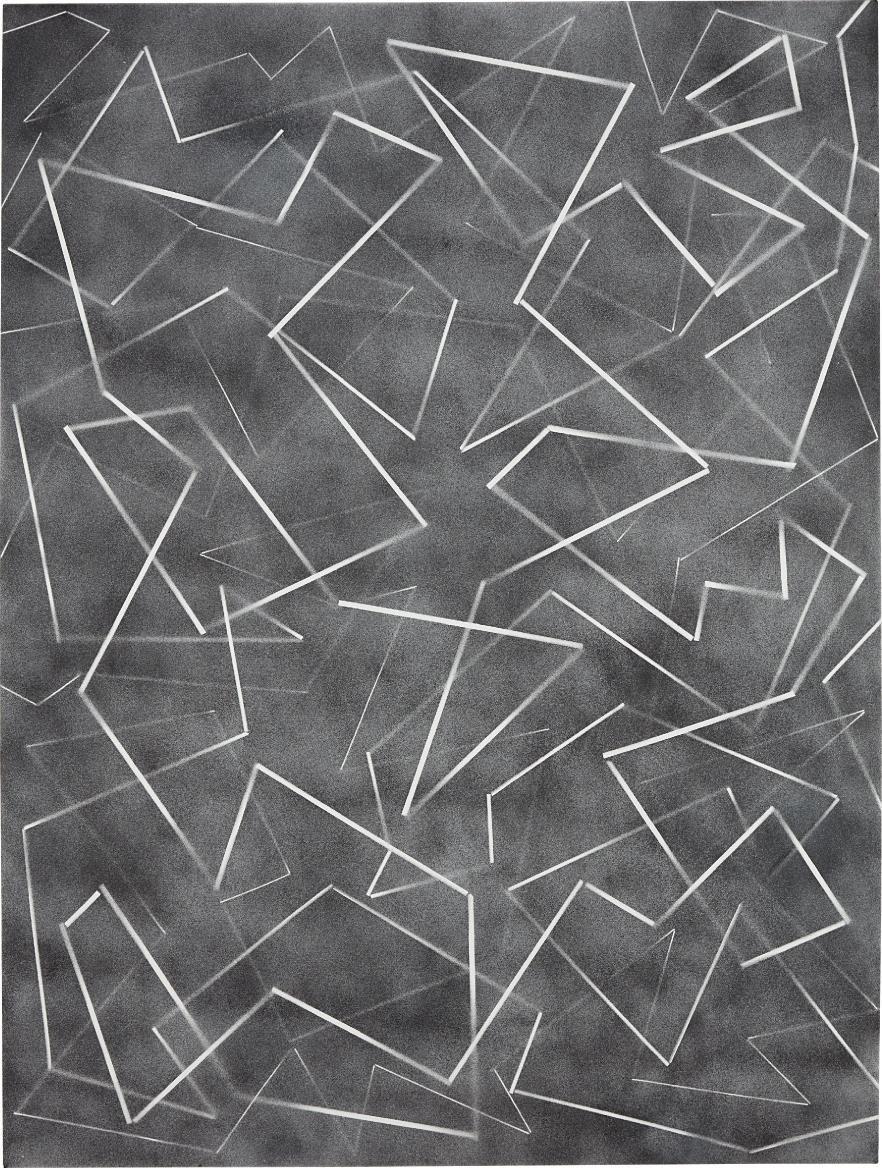 Scott Reeder-Untitled (Pasta Painting)-2013