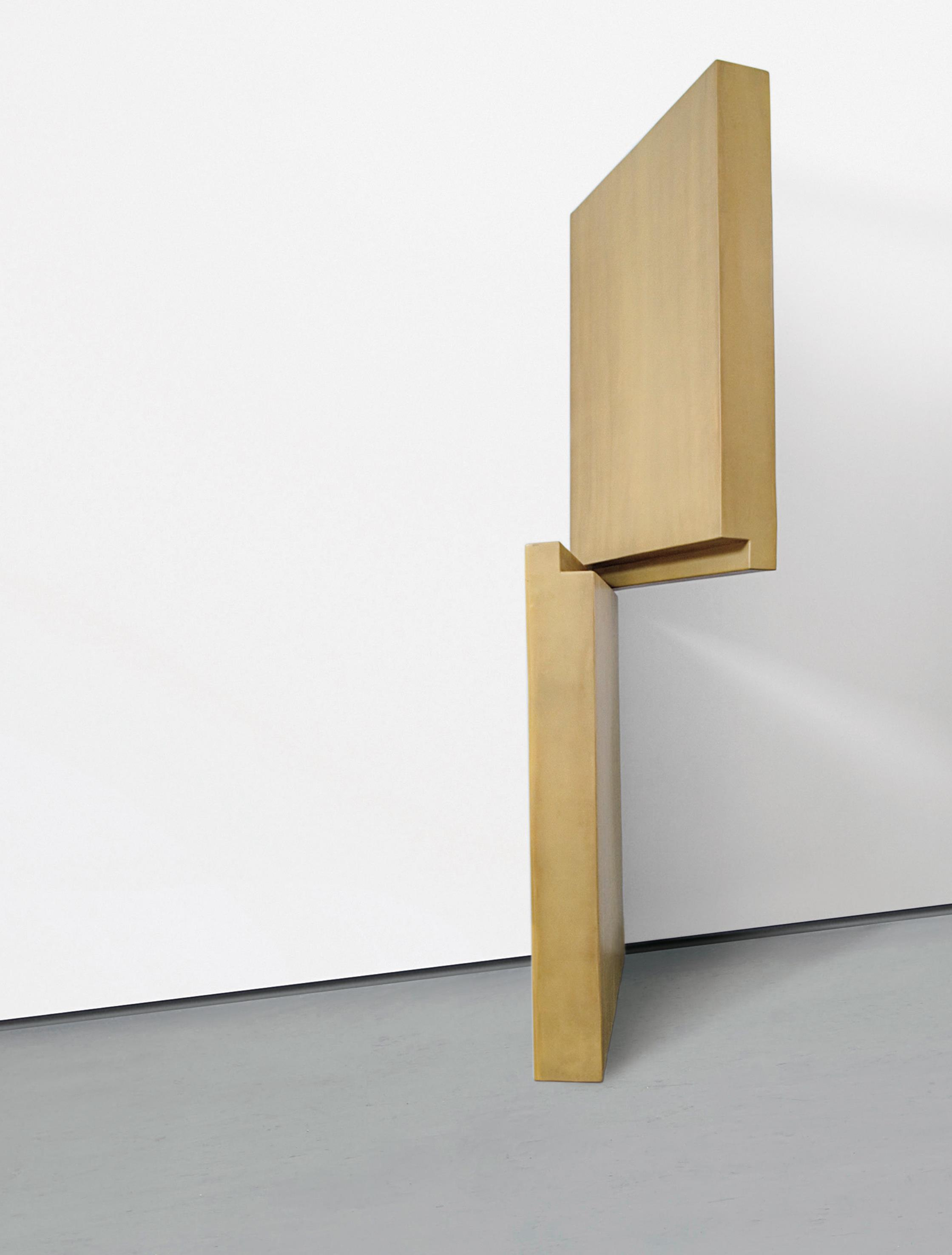 Robert Therrien-No Title (Brown Dutch Doors)-1999