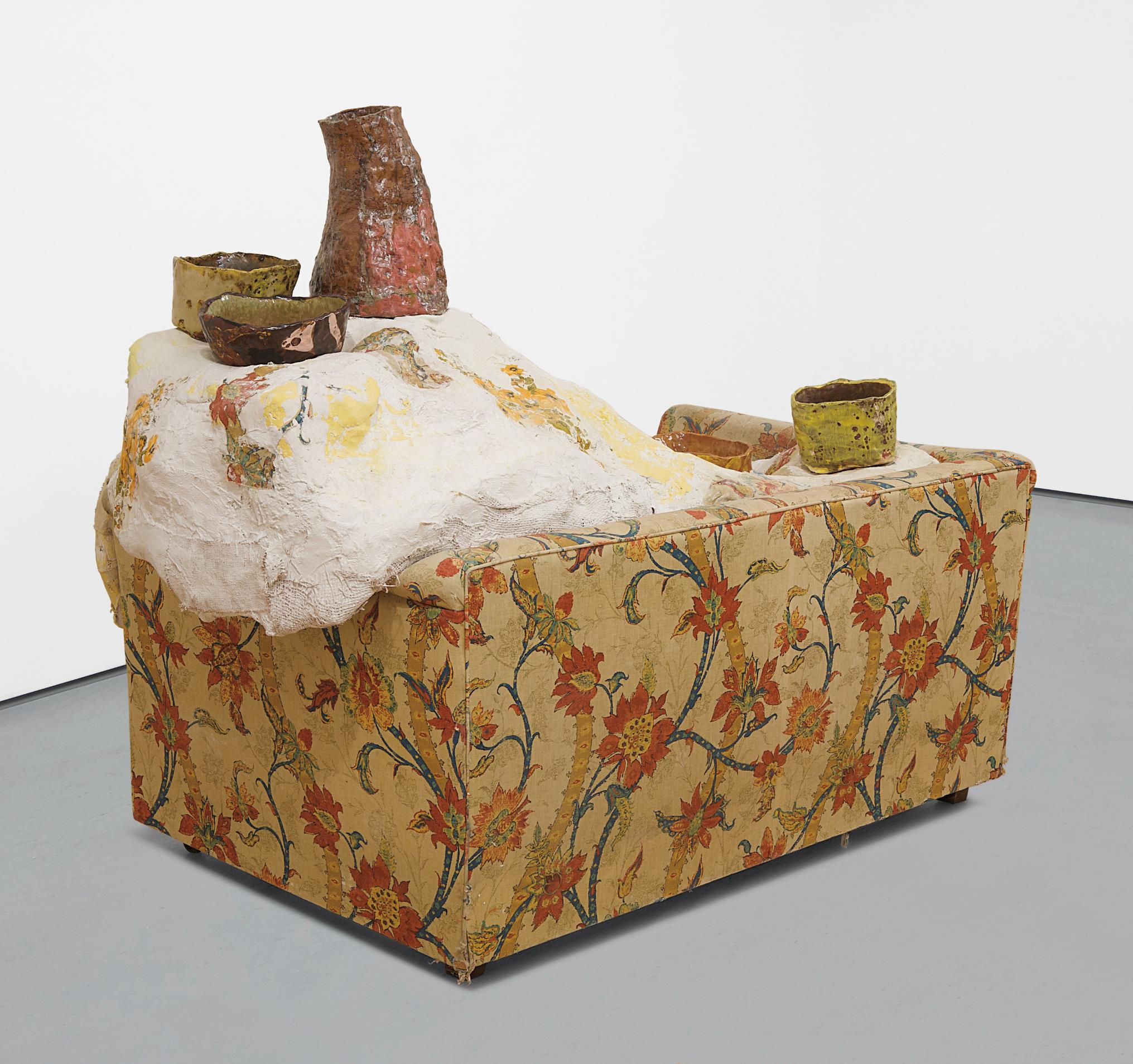 Jessica Jackson Hutchins-Loveseat And Bowls-2008