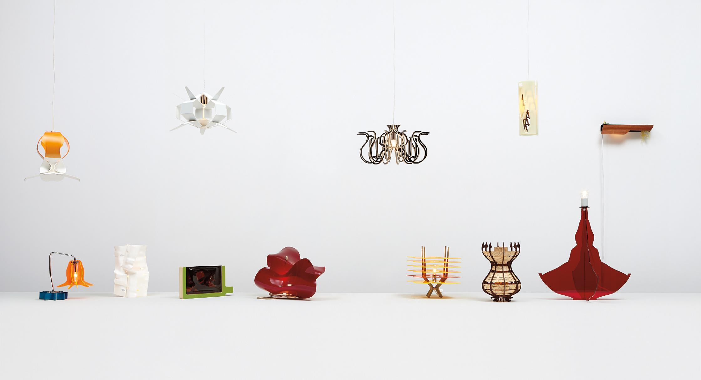 Jorge Pardo-Penelope (Set Of 12 Subscription Lamps)-