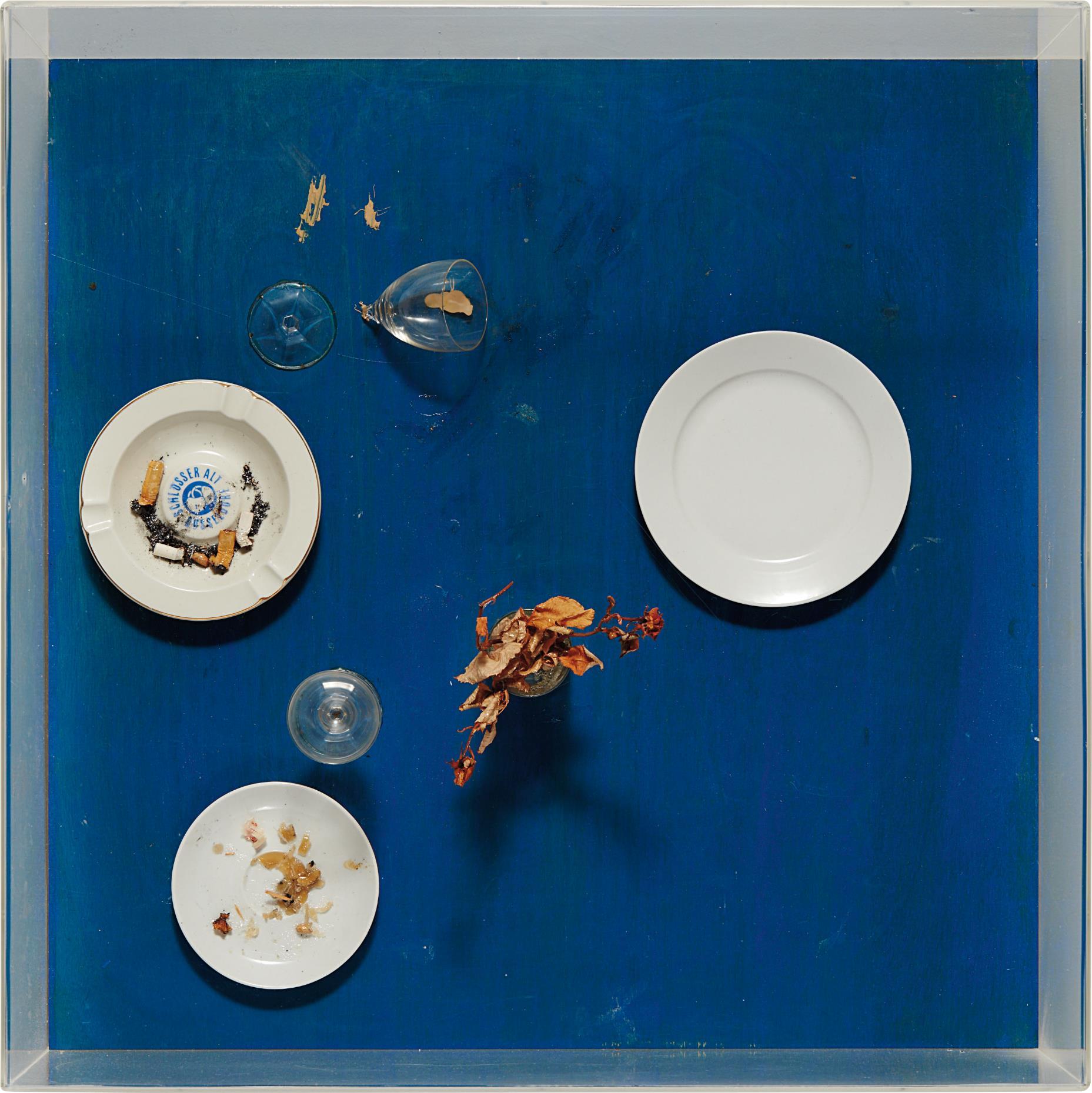 Daniel Spoerri-Tableau Piège-1972